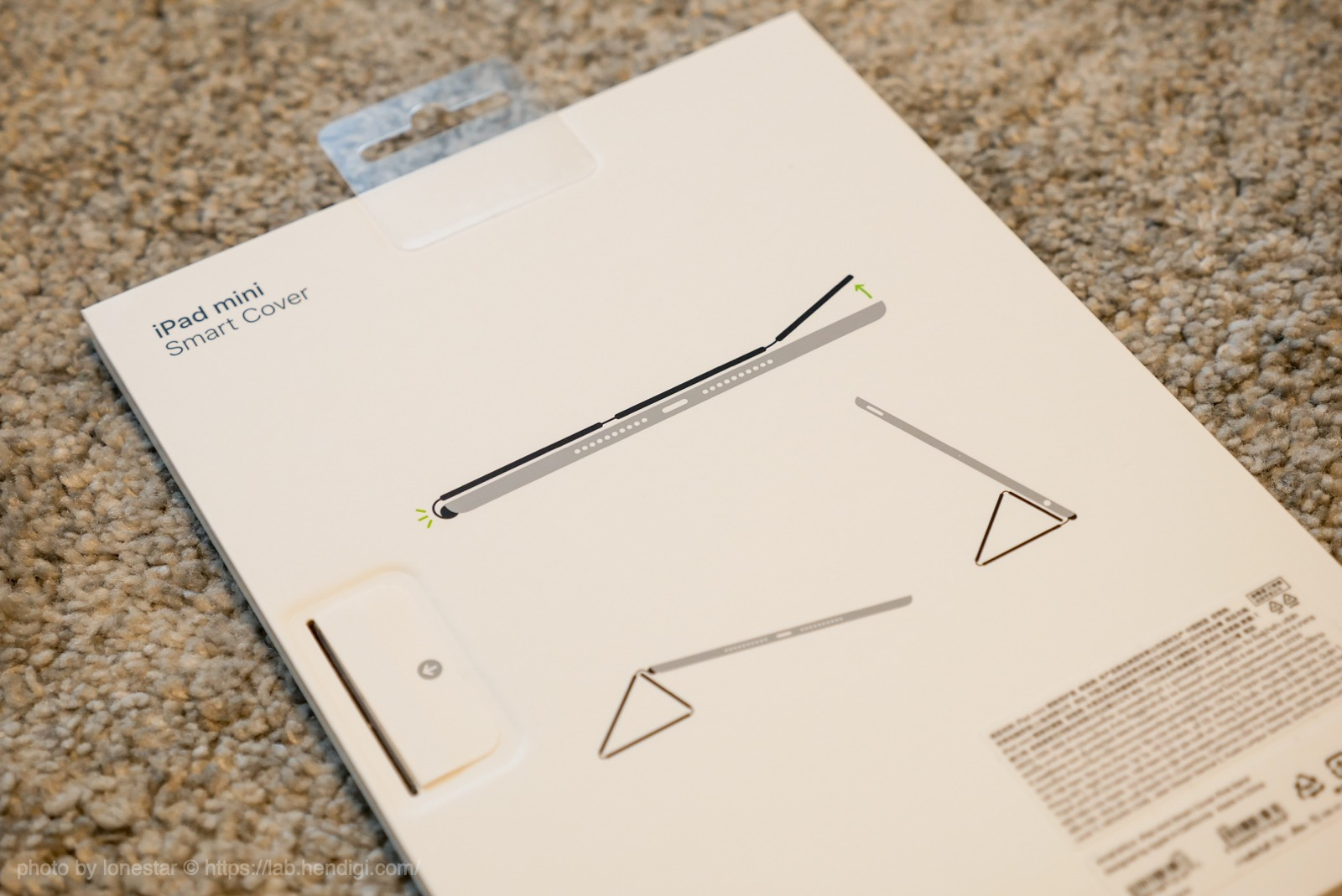 iPad mini Smart Cover レビュー