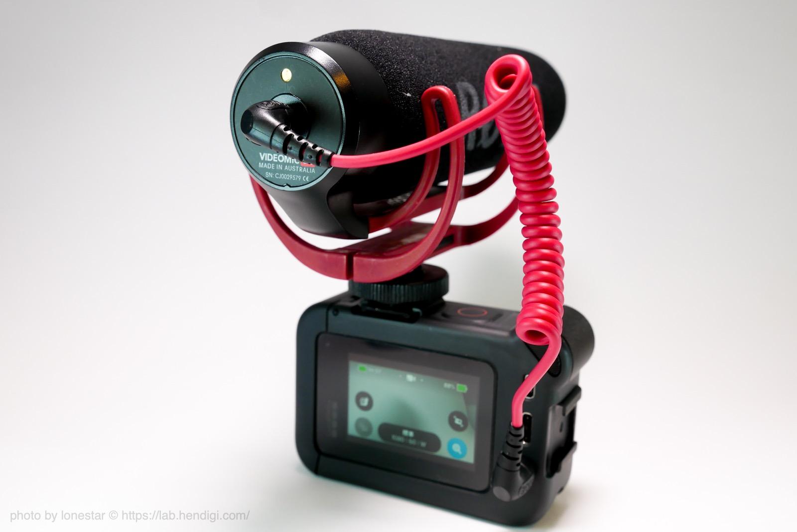 GoPro HERO8 外部マイク