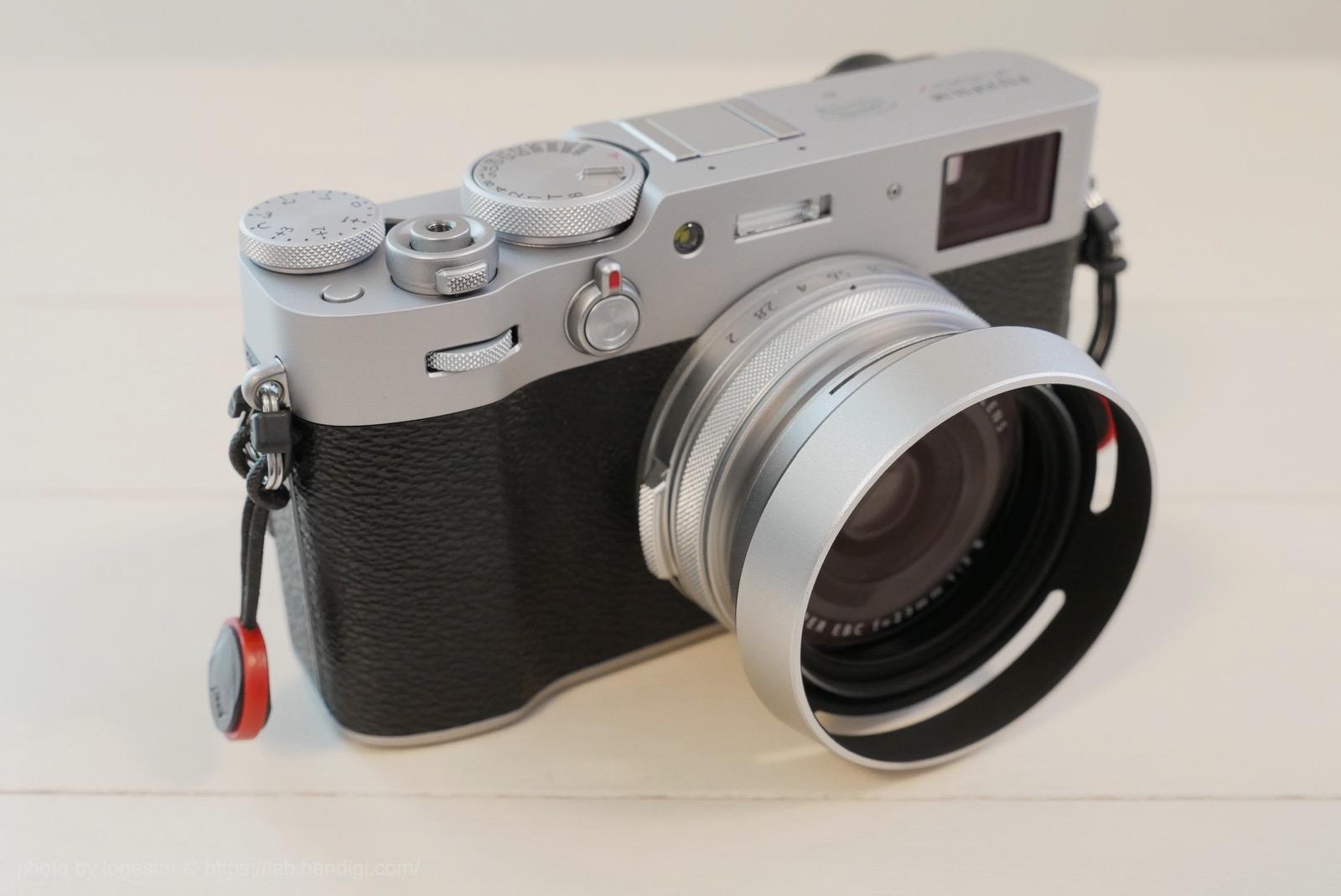 FUJIFILM X100V レンズフード