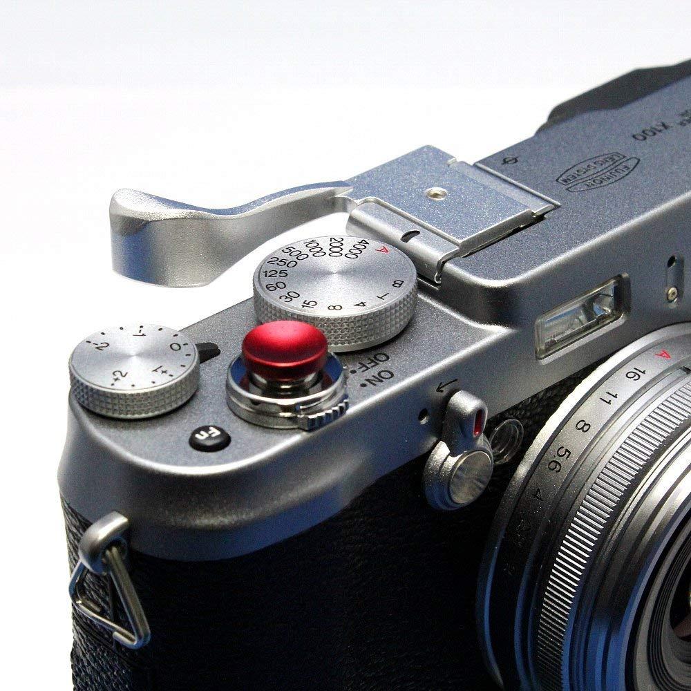 FUJIFILM X100V レリーズボタン