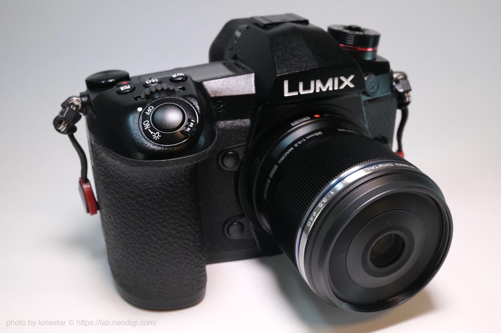 LUMIX G9 PRO マクロレンズ