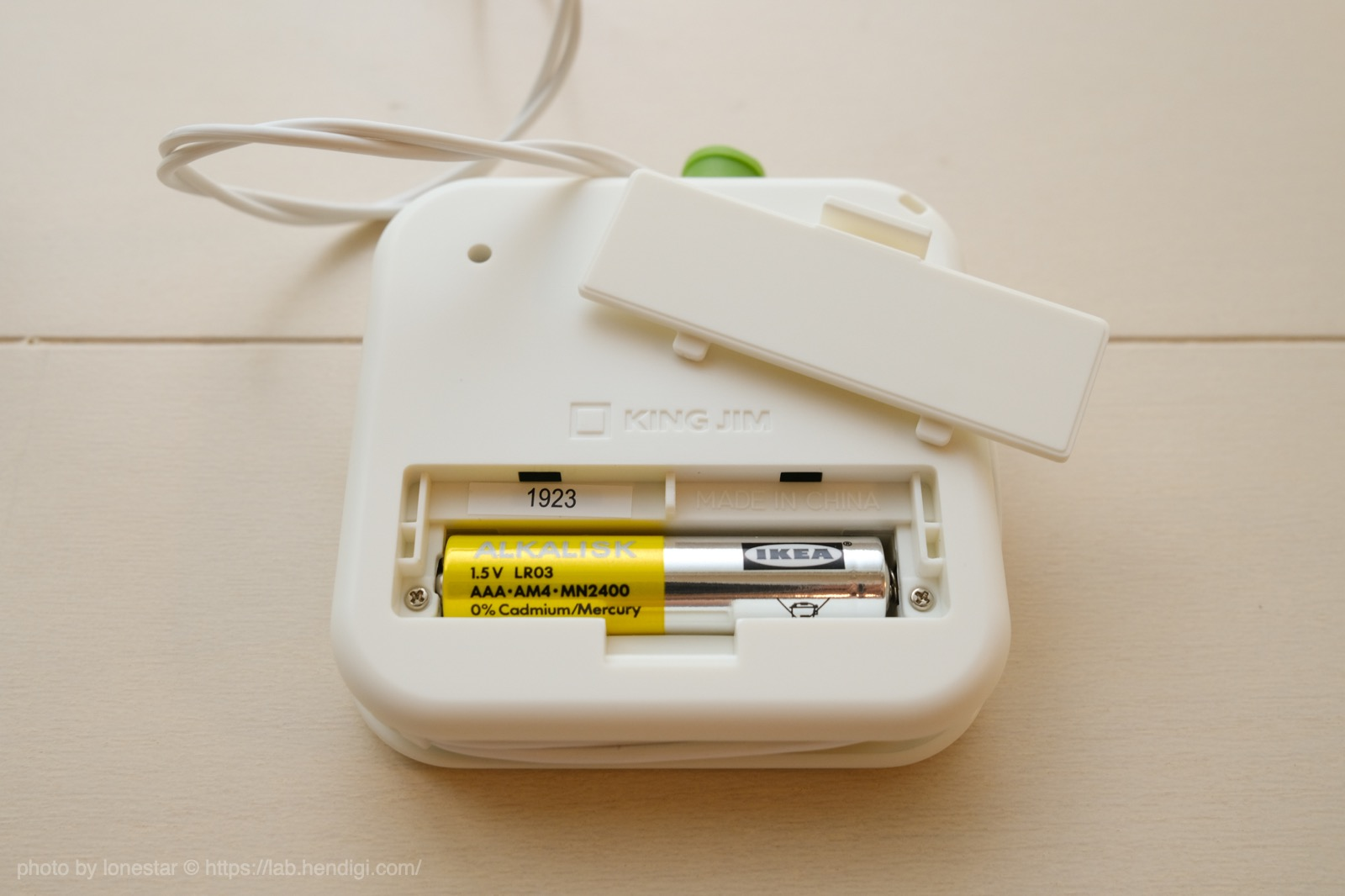 キングジム デジタル耳せん 乾電池
