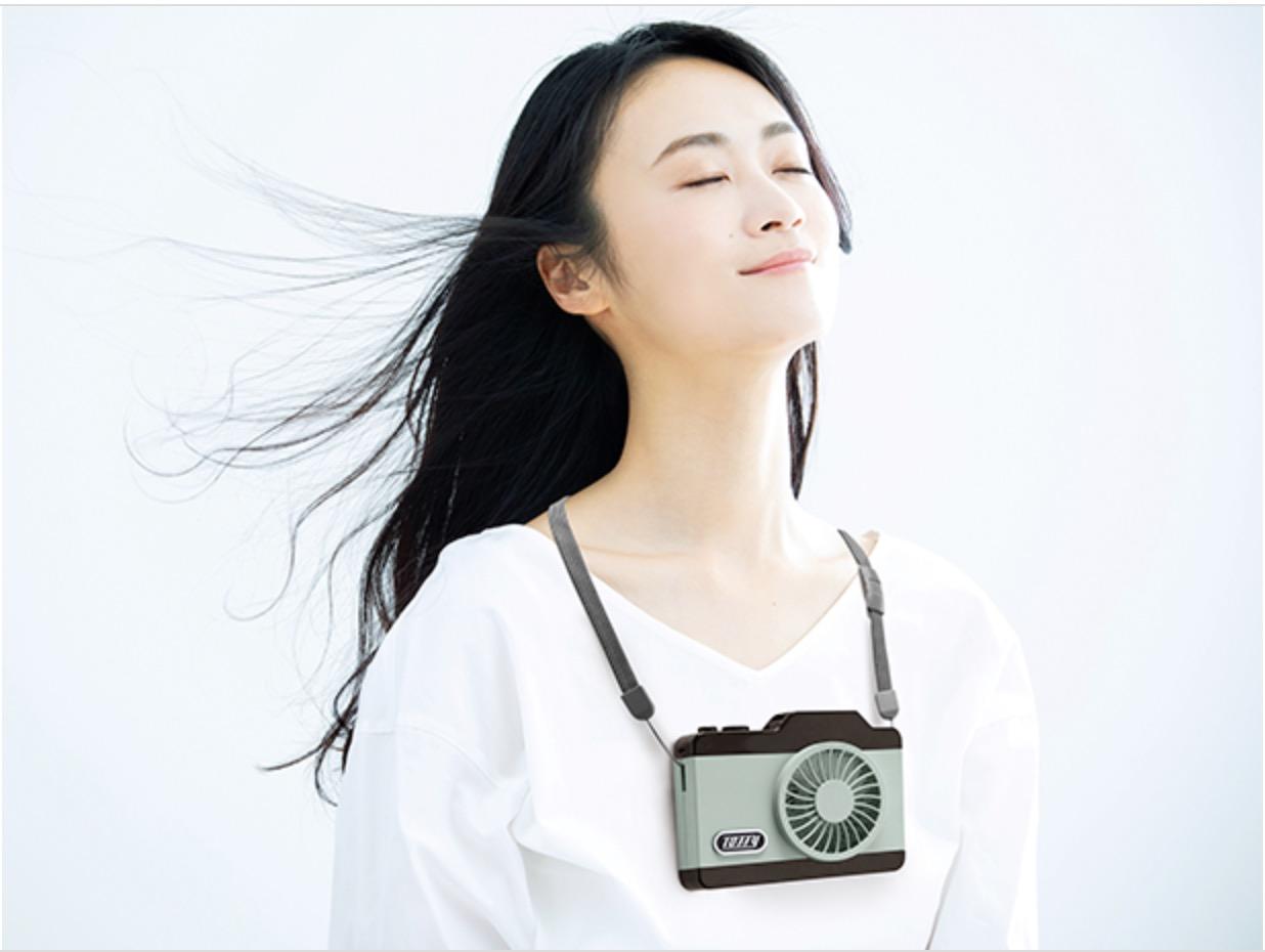 カメラ型 扇風機