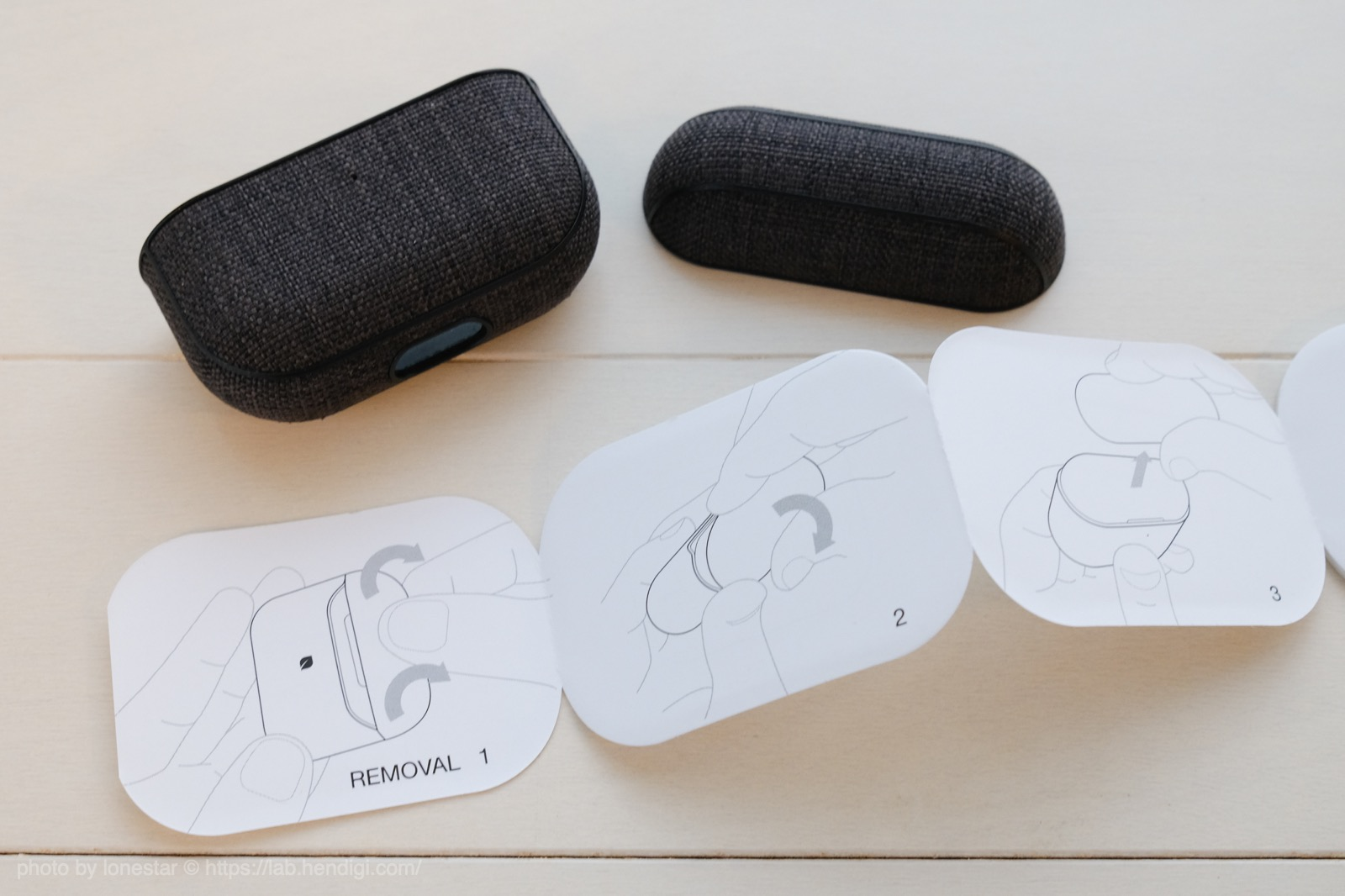 Incase AirPods Pro Case with Woolenex 外し方