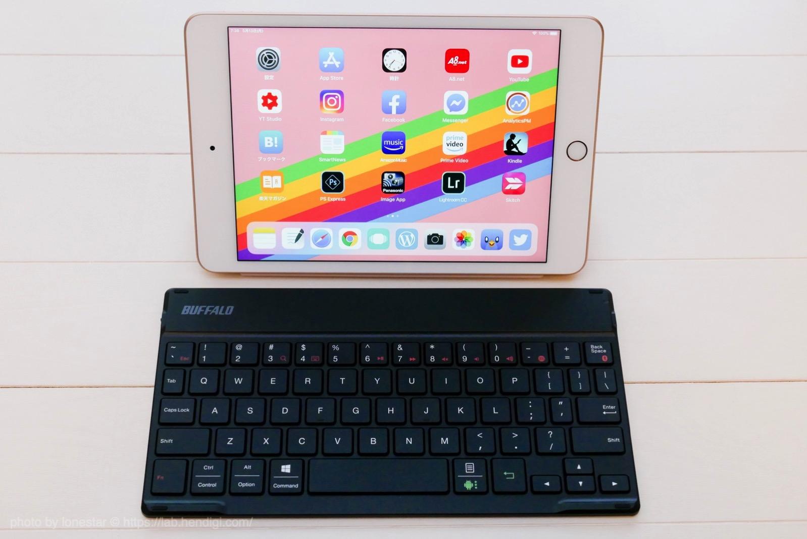 iPad mini キーボード おすすめ