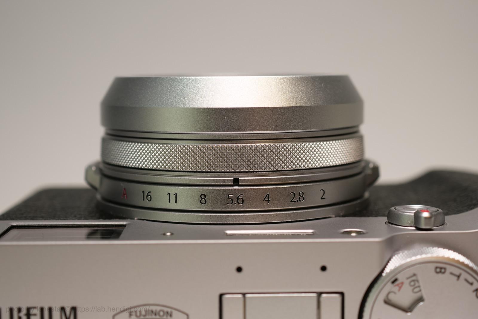 FUJIFILM X100V UVフィルター レビュー