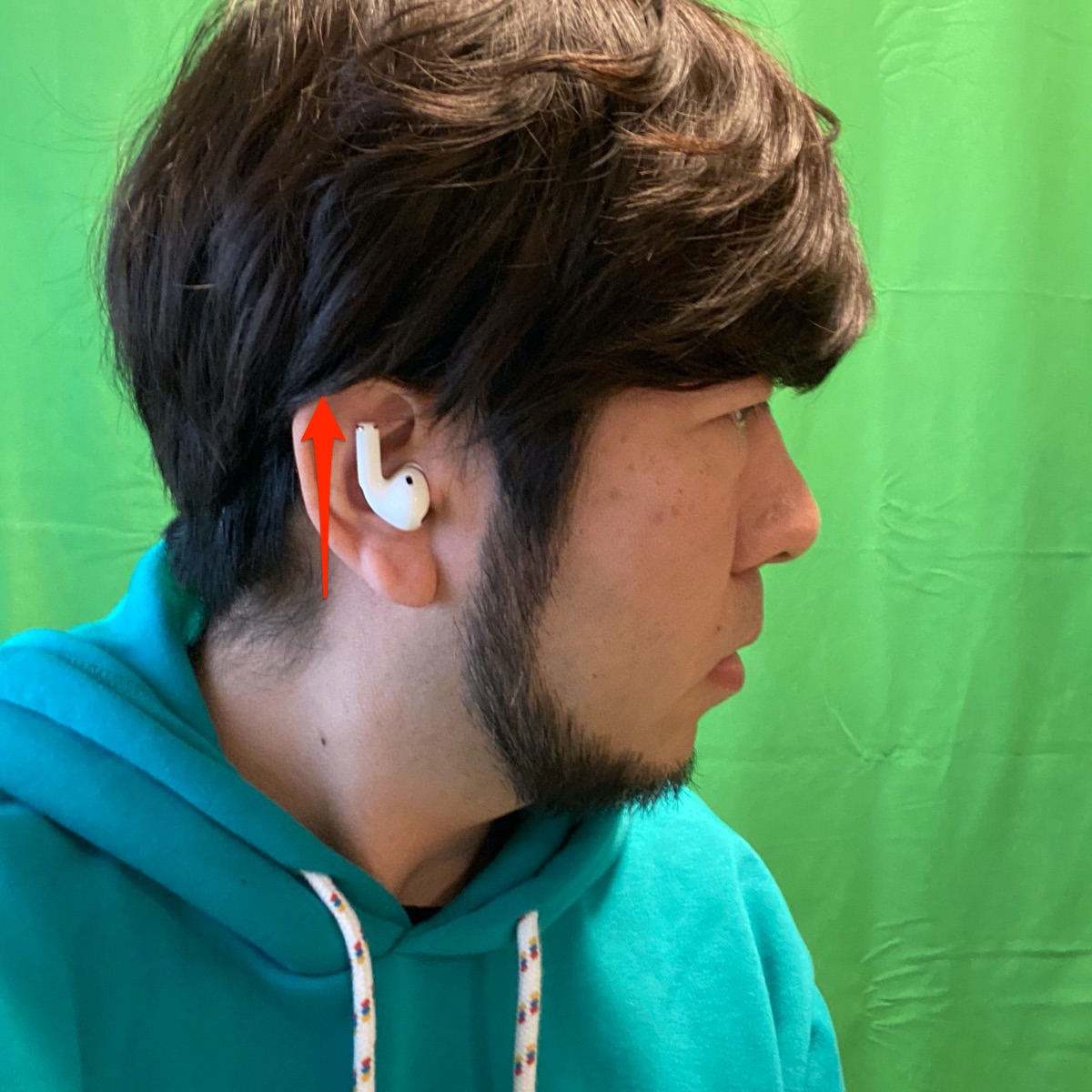 AirPods Pro 付け方