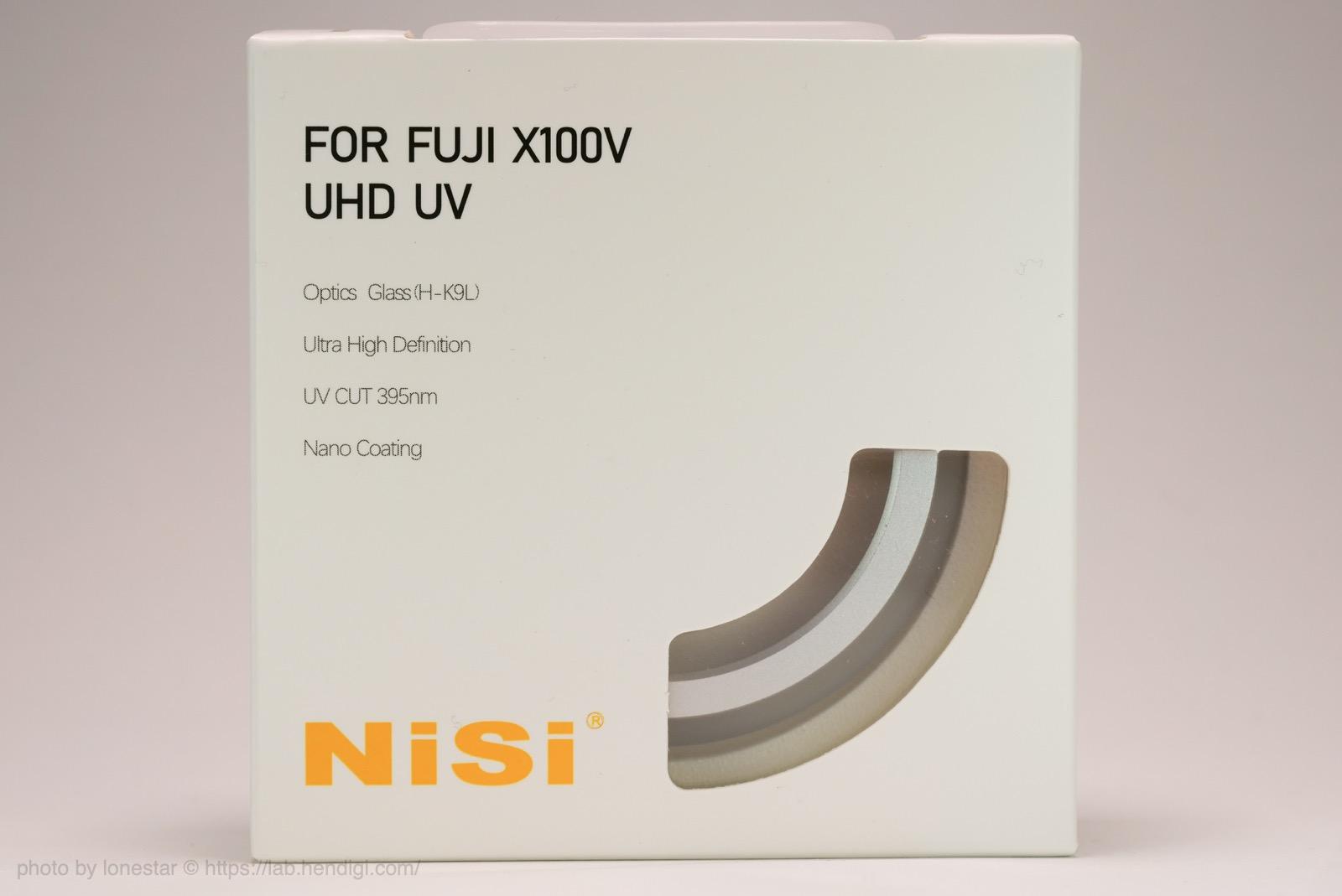 NiSi UHD UVフィルター
