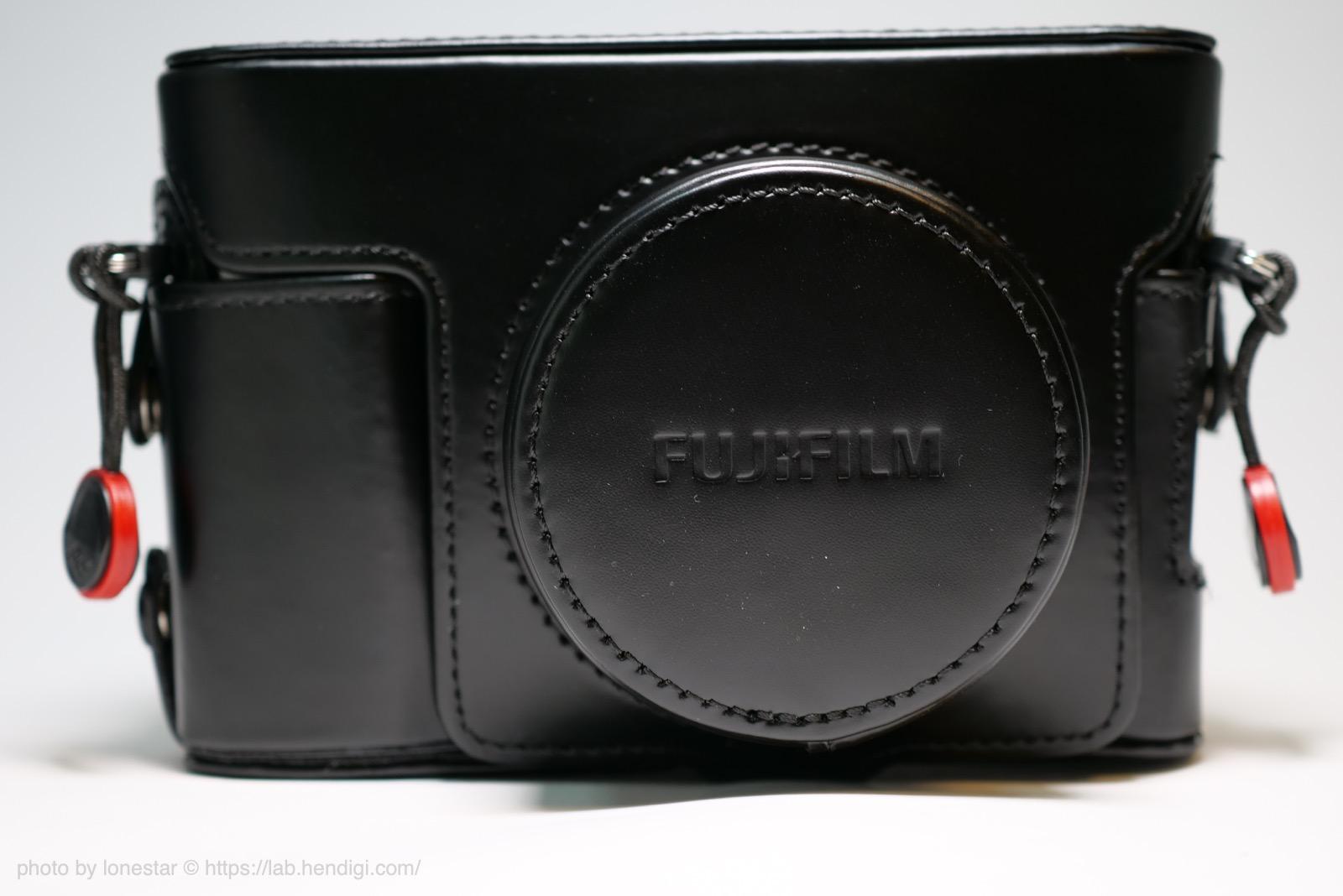 X100V レザーケース レンズフード