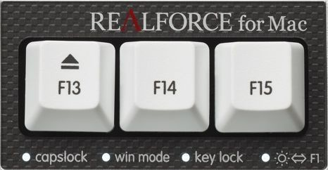 REALFORCE for Mac PFU テンキーレス