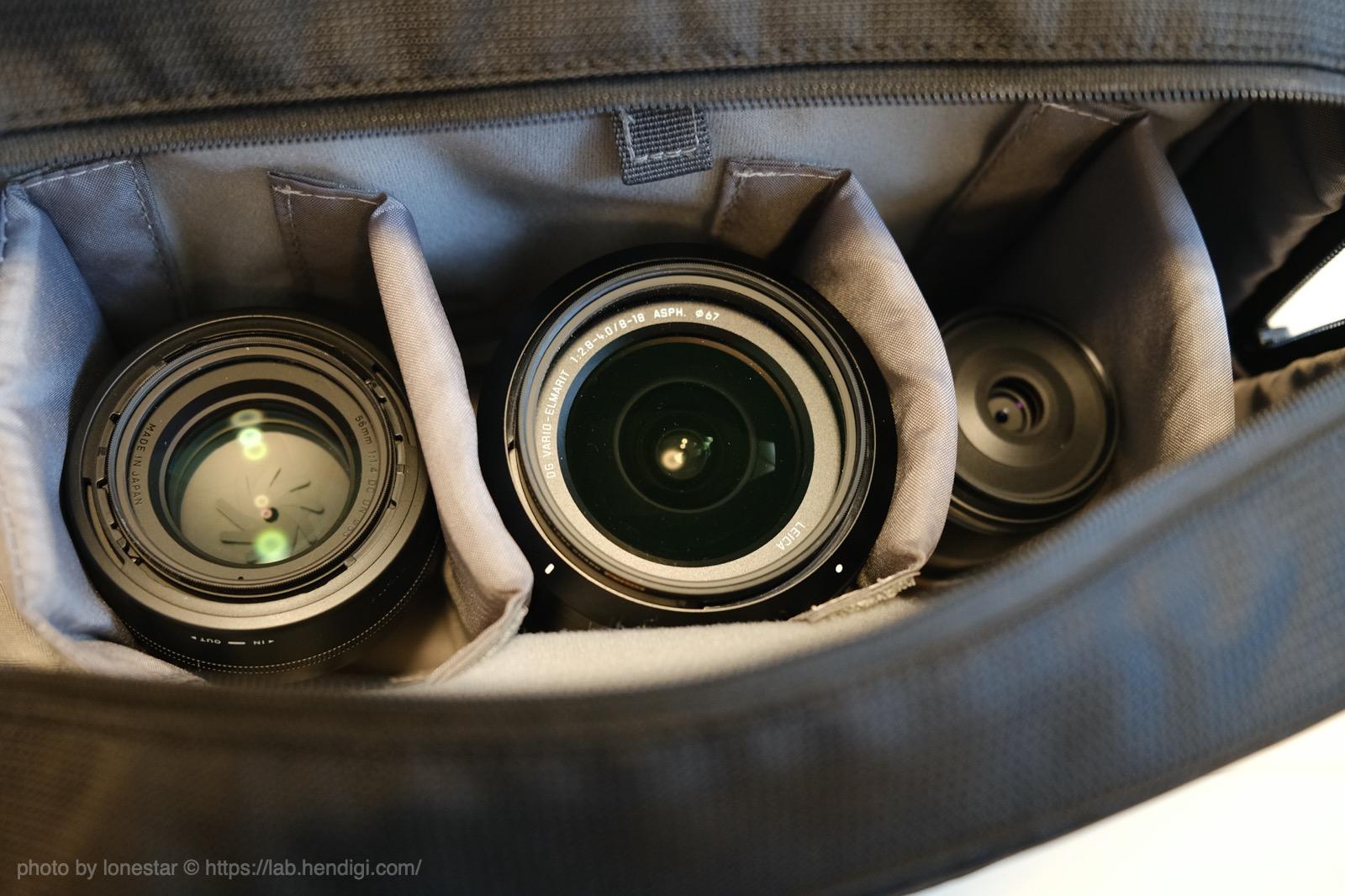 シューティングマルチカメラバッグ