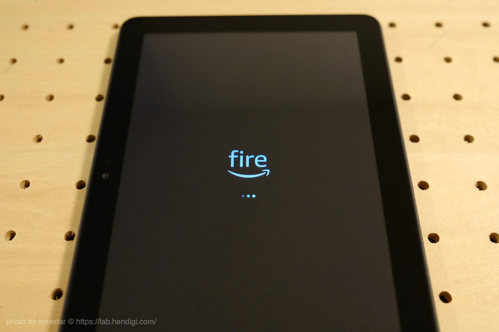 Fire HD 8 Plus 設定