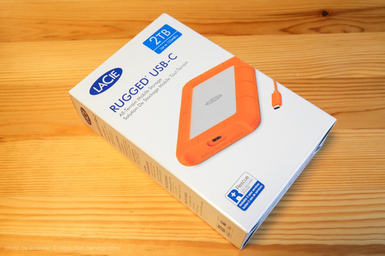 ラシー HDD 2TB