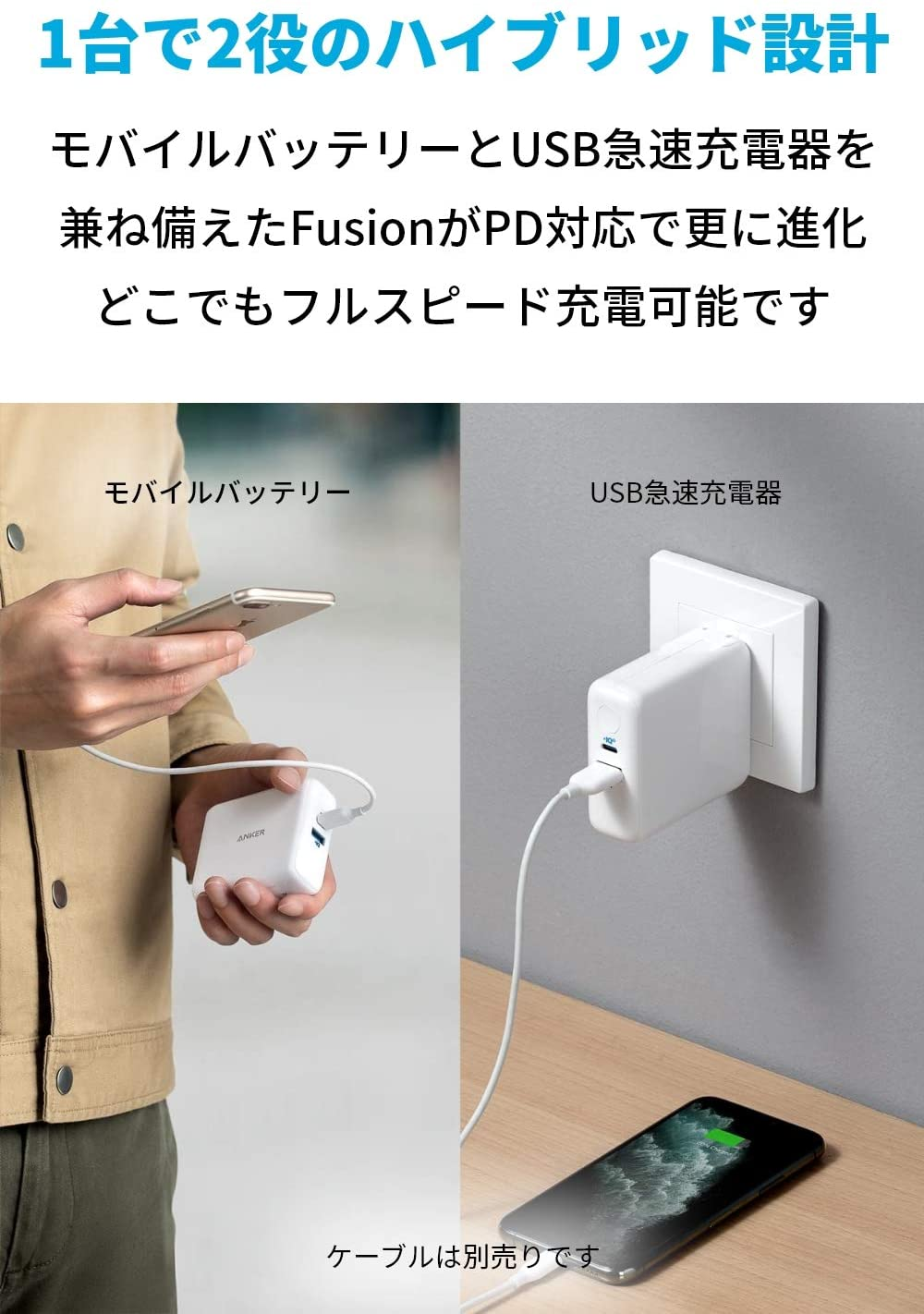 Anker PowerCore Fusion lll 5000