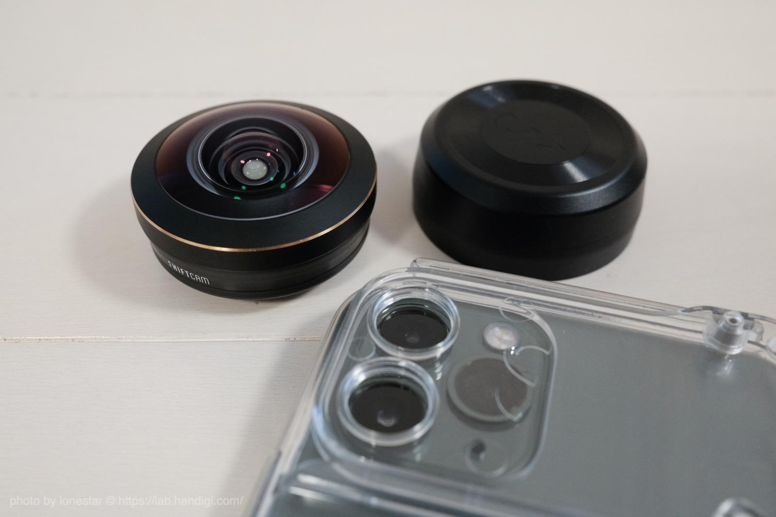 iPhone 11 Pro 魚眼レンズ