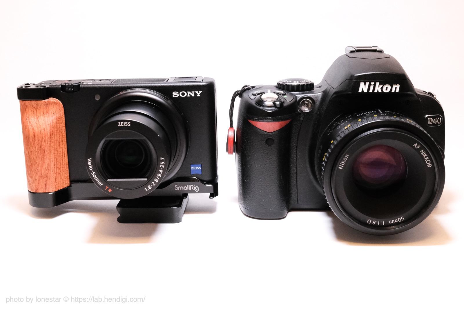 Nikon D40 比較