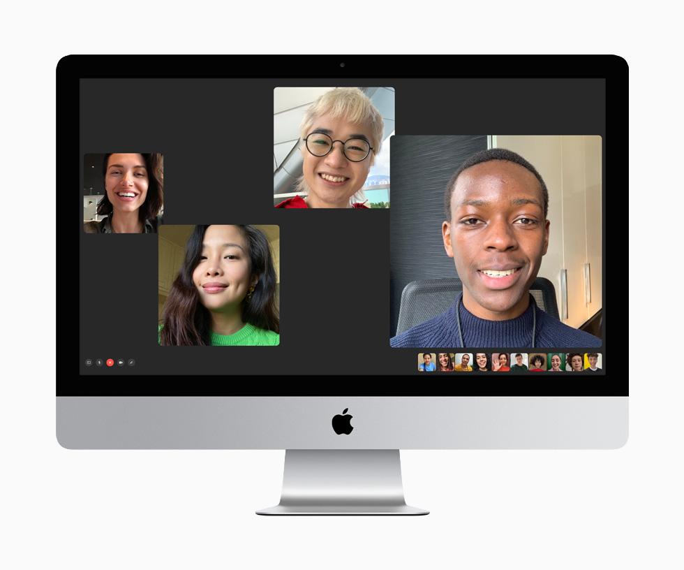 新型iMac 2020 フェイスタイムカメラ