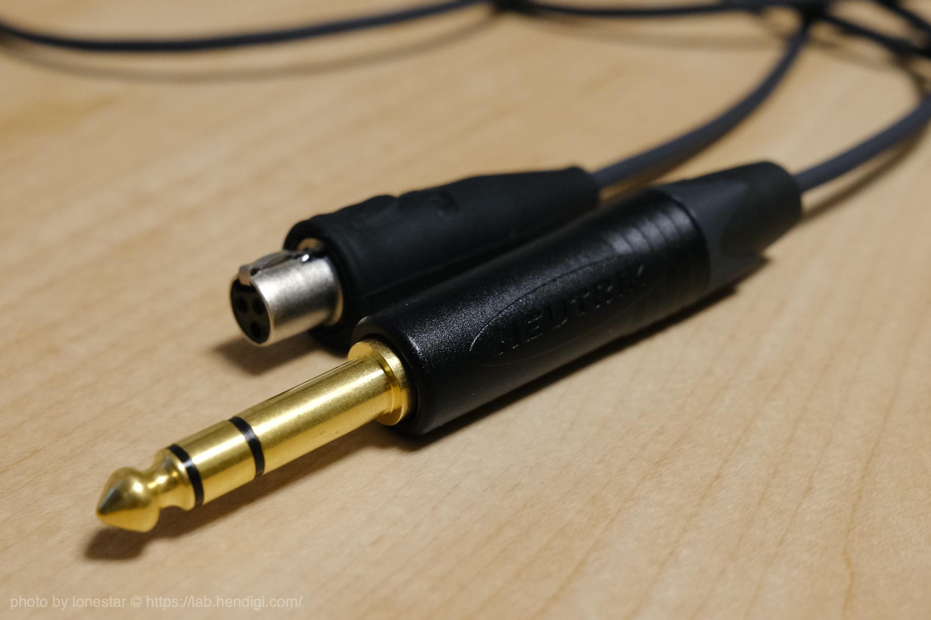 ノイマン AKG K240 ケーブル
