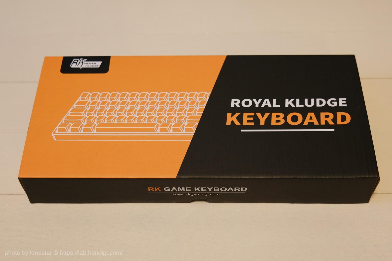 RK61 ゲーミングキーボード レビュー