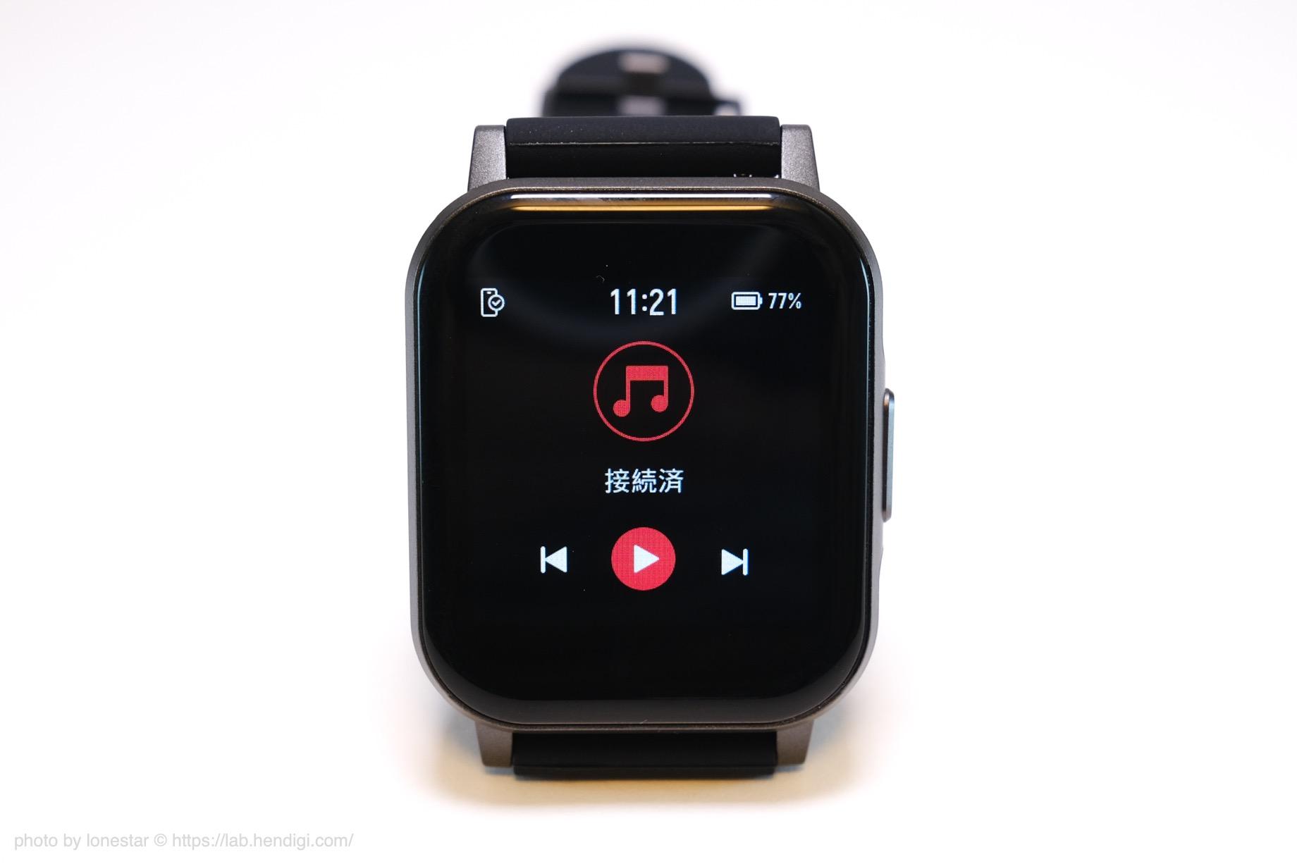 SOUNDPEATS Watch1 音楽