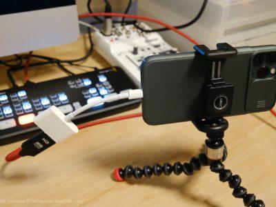 ATEM Mini カメラ iPhone