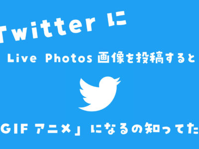 Twitter GIF iPhone Live Photos