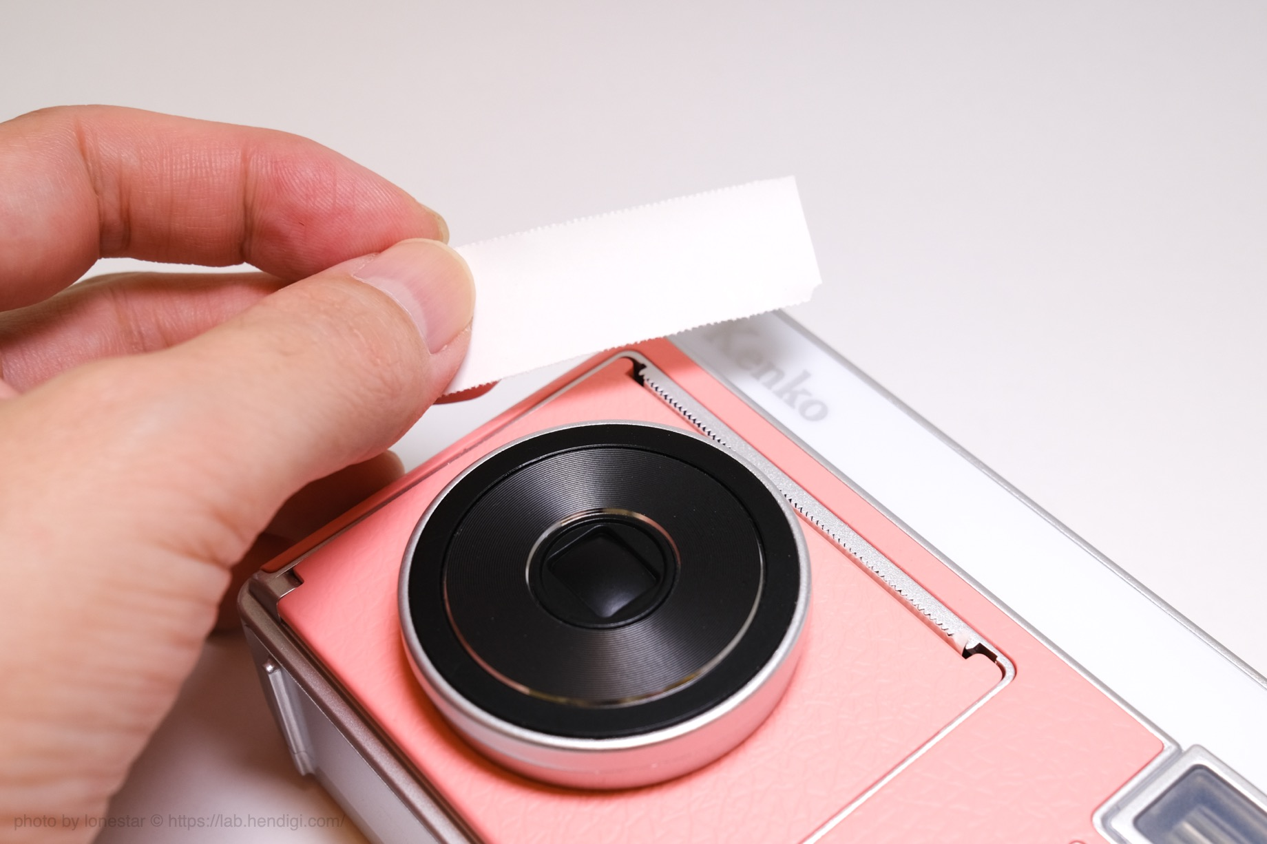 モノクロカメラ KC-TY01 使い方