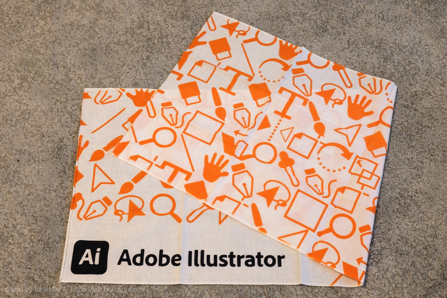 Adobe 手ぬぐい