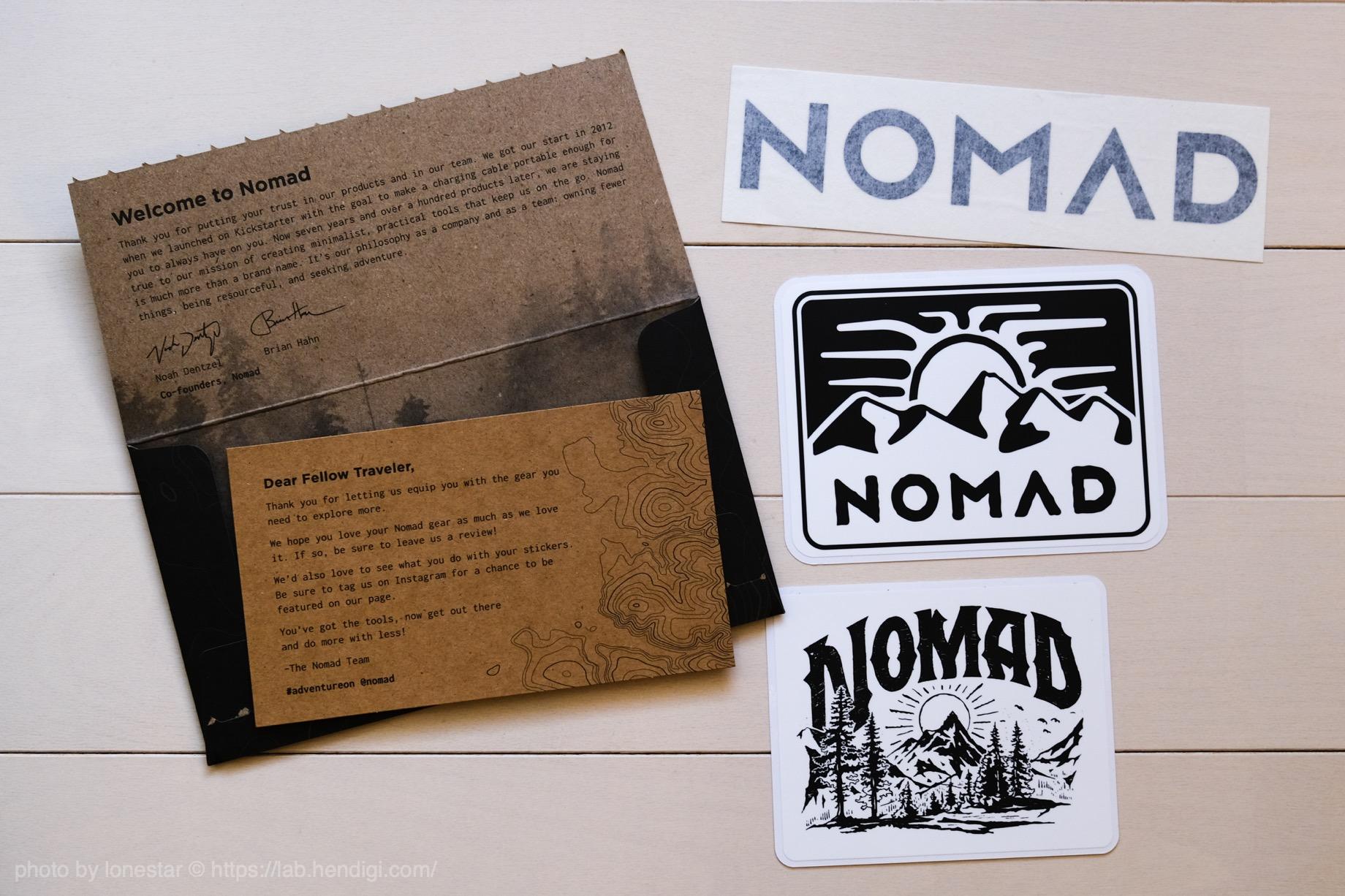 NOMAD ステッカー