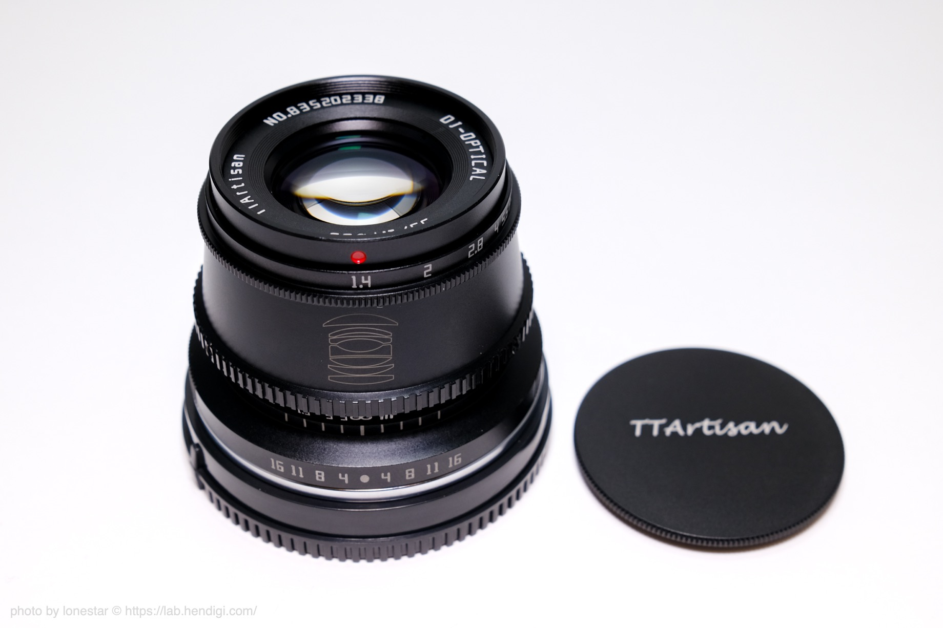 TTArtisan 35mm f/1.4 C レビュー