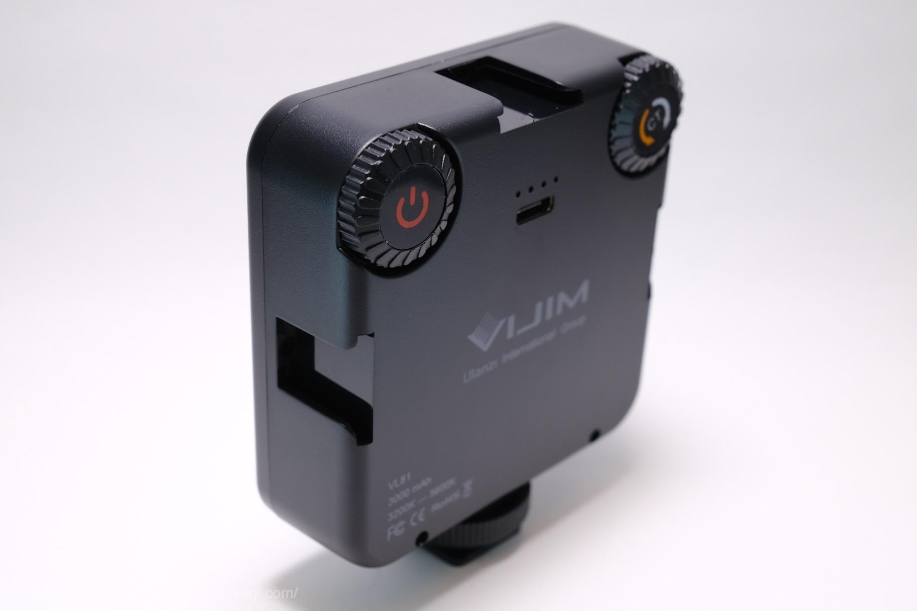VIJIM VL81 LEDビデオライト