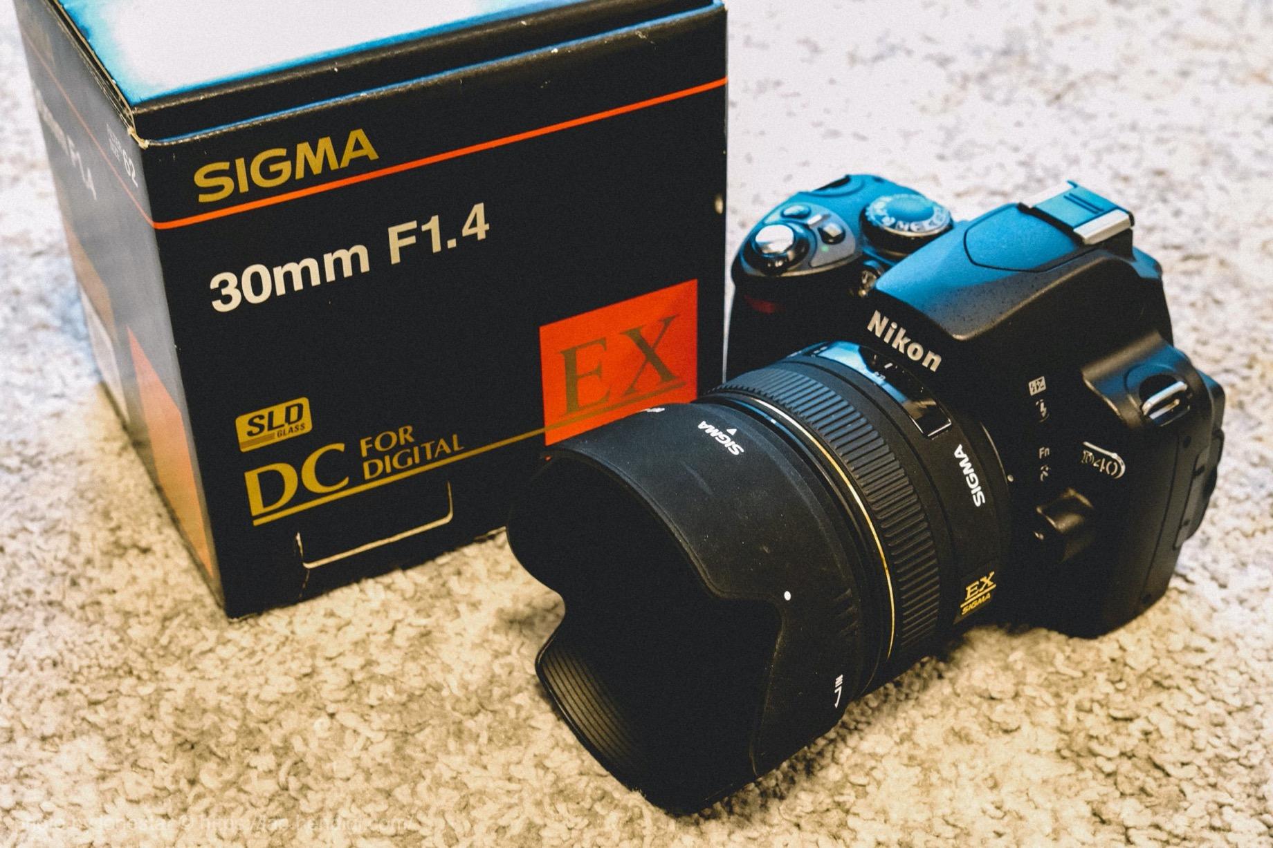 SIGMA 30mm F1.4EX DC HSM