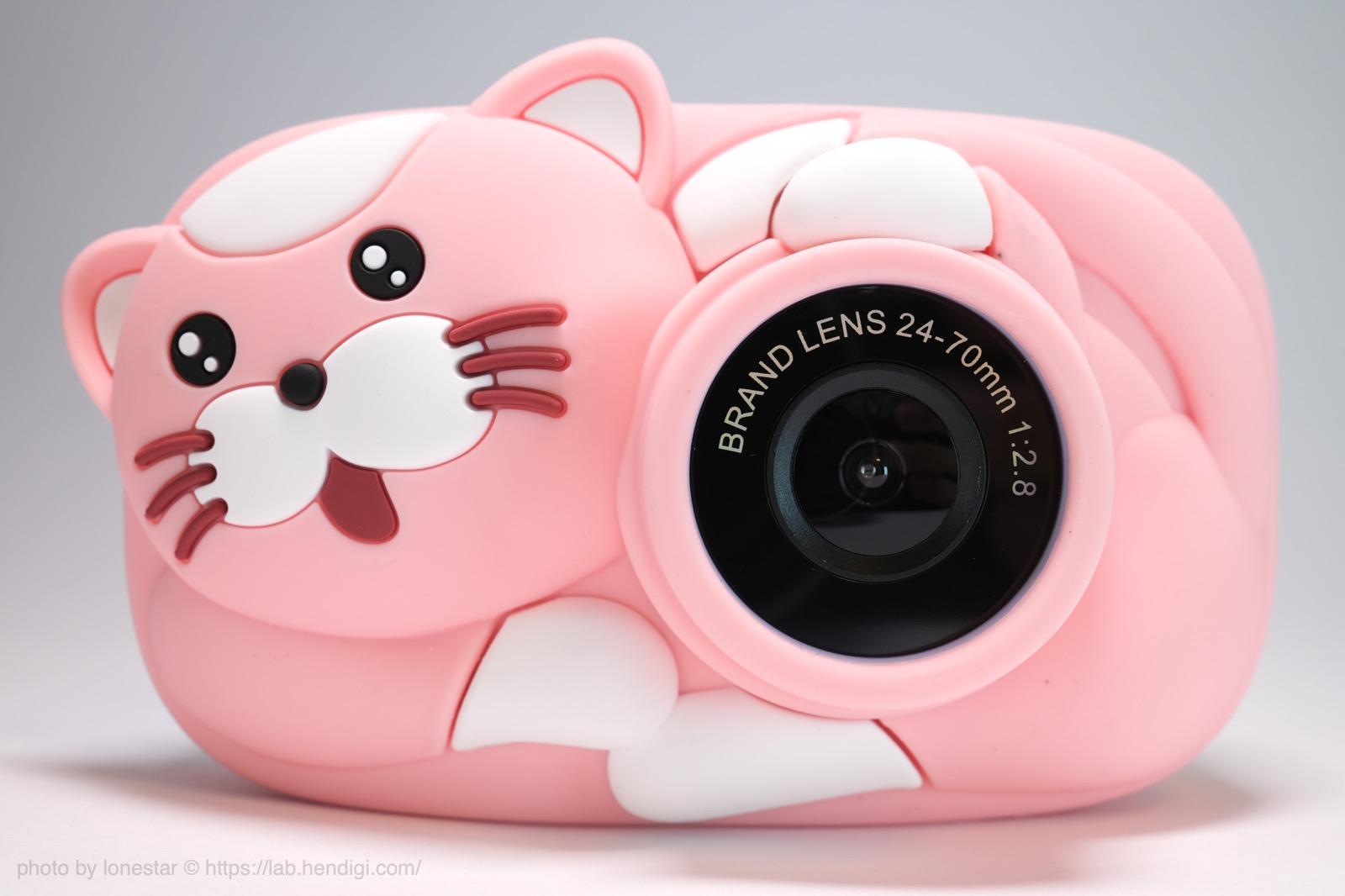 ネコ型 LeaderPro キッズカメラ