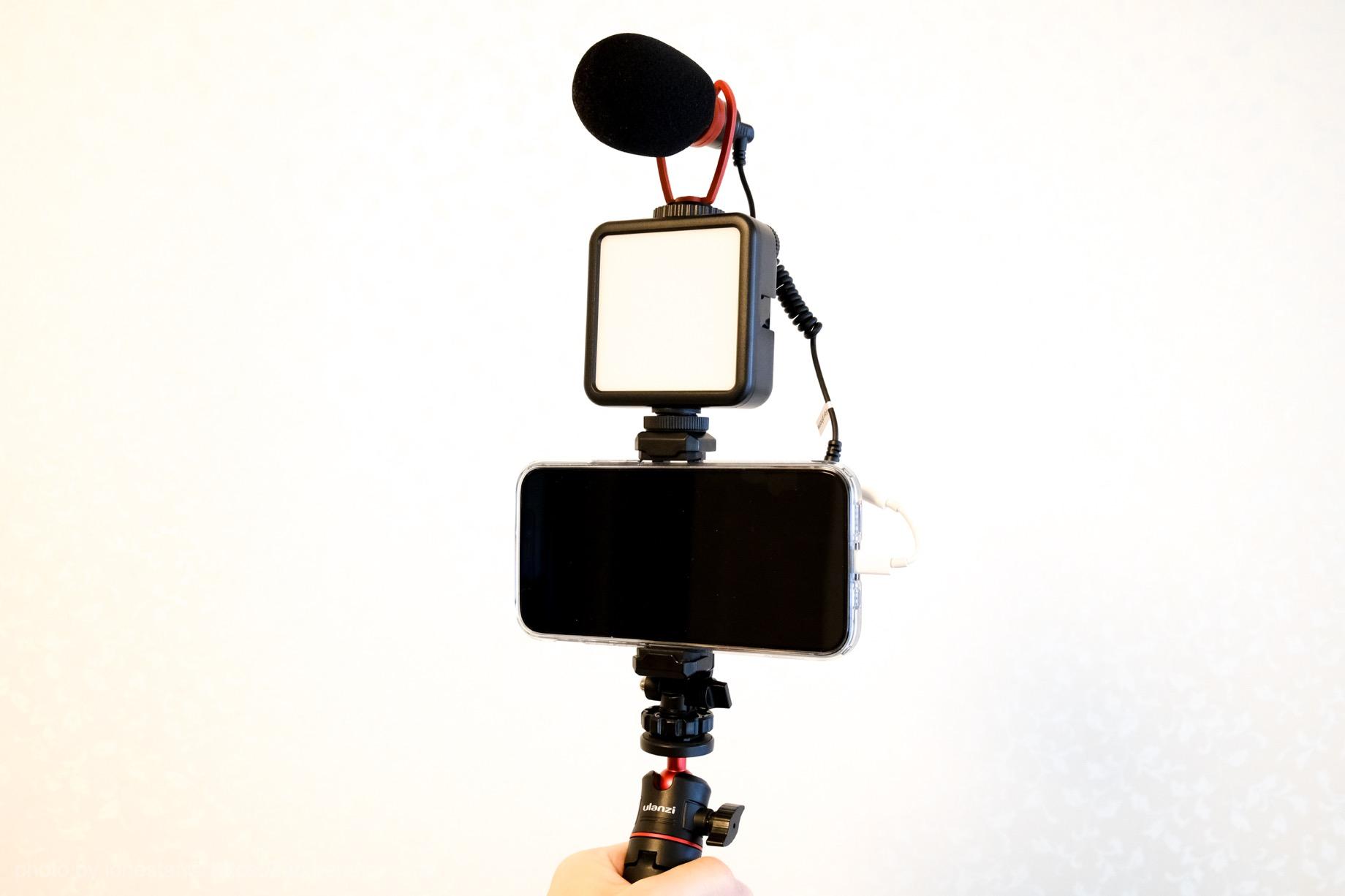 VIJIM VL81 LEDビデオライト レビュー