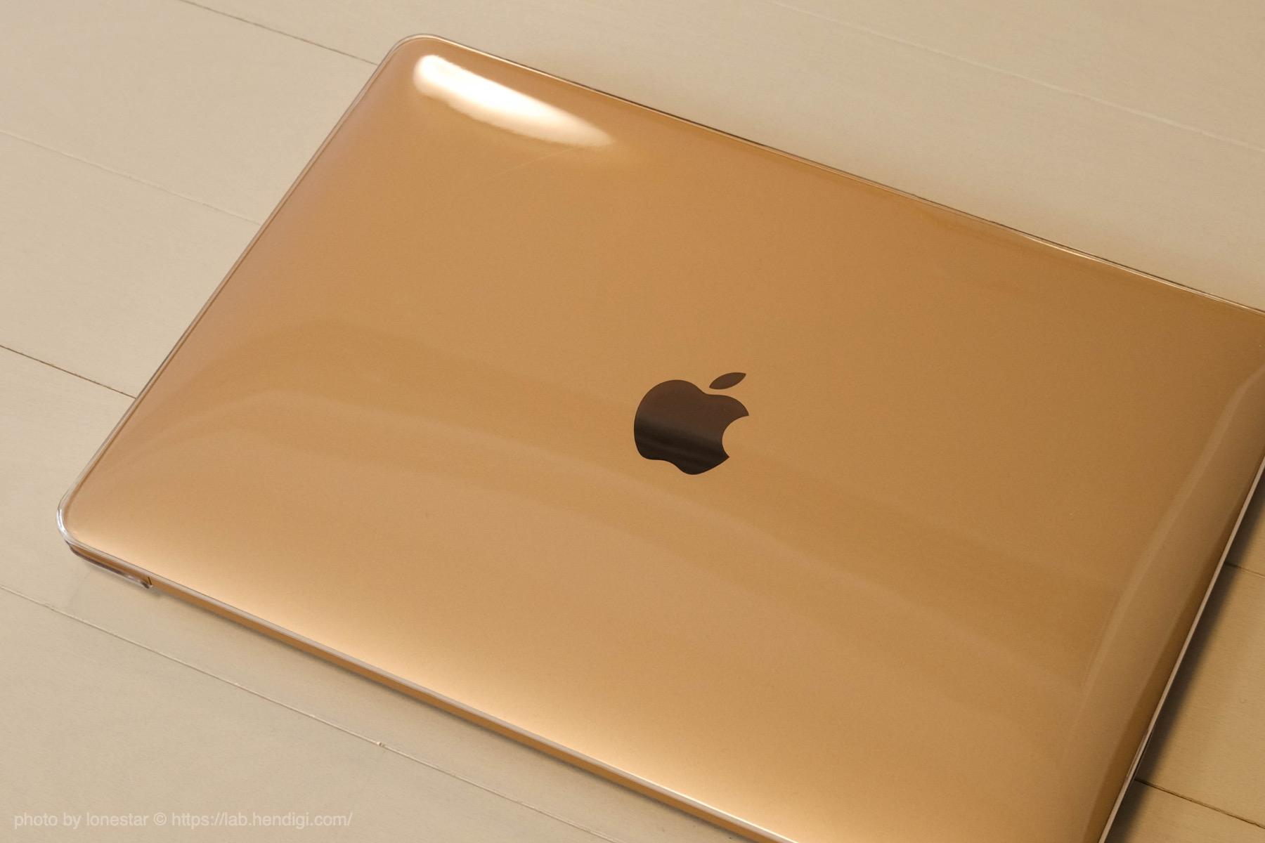 MacBook Air クリア カバー レビュー