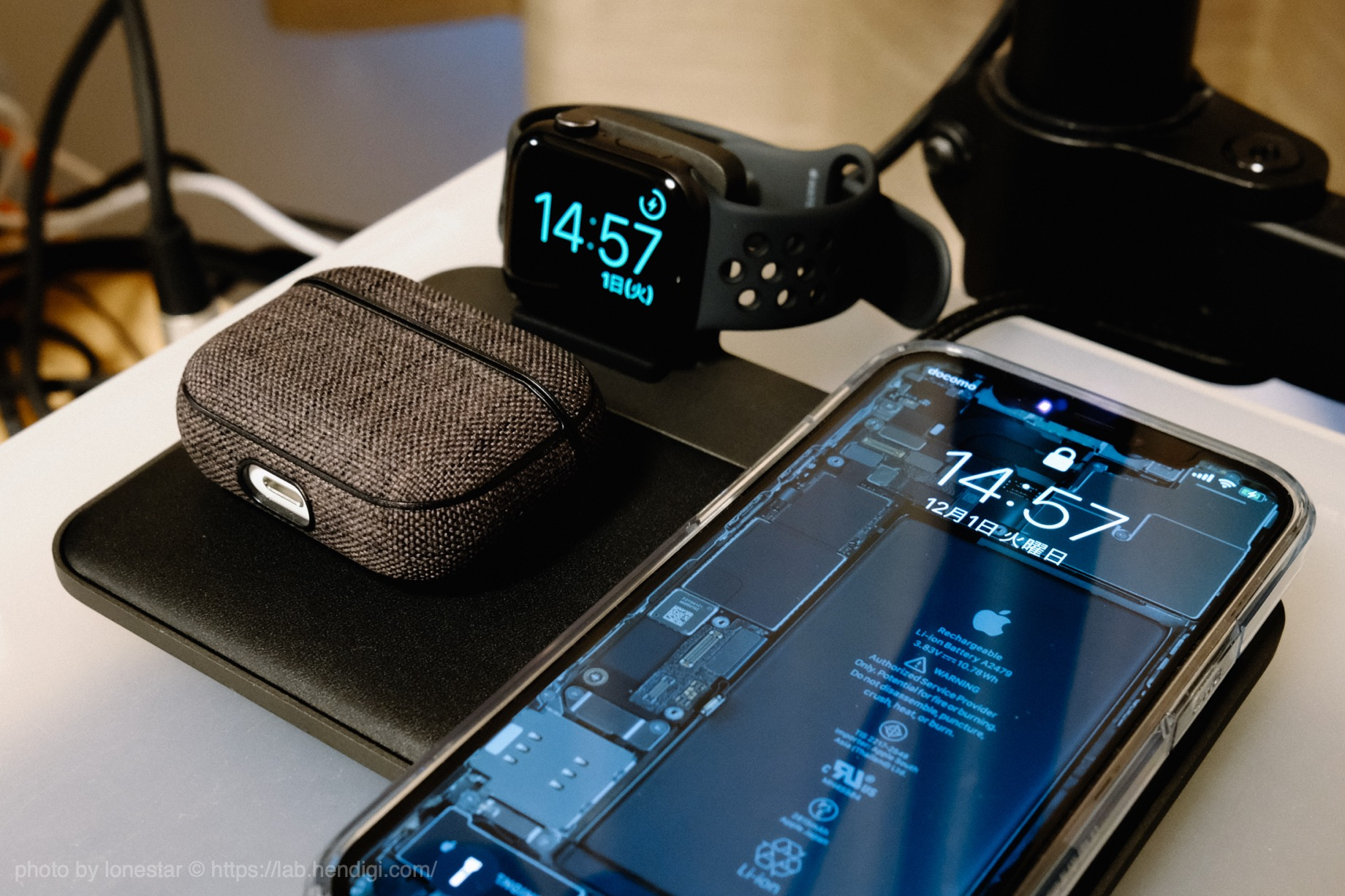 NOMAD Base Station Apple Watch Edition レビュー
