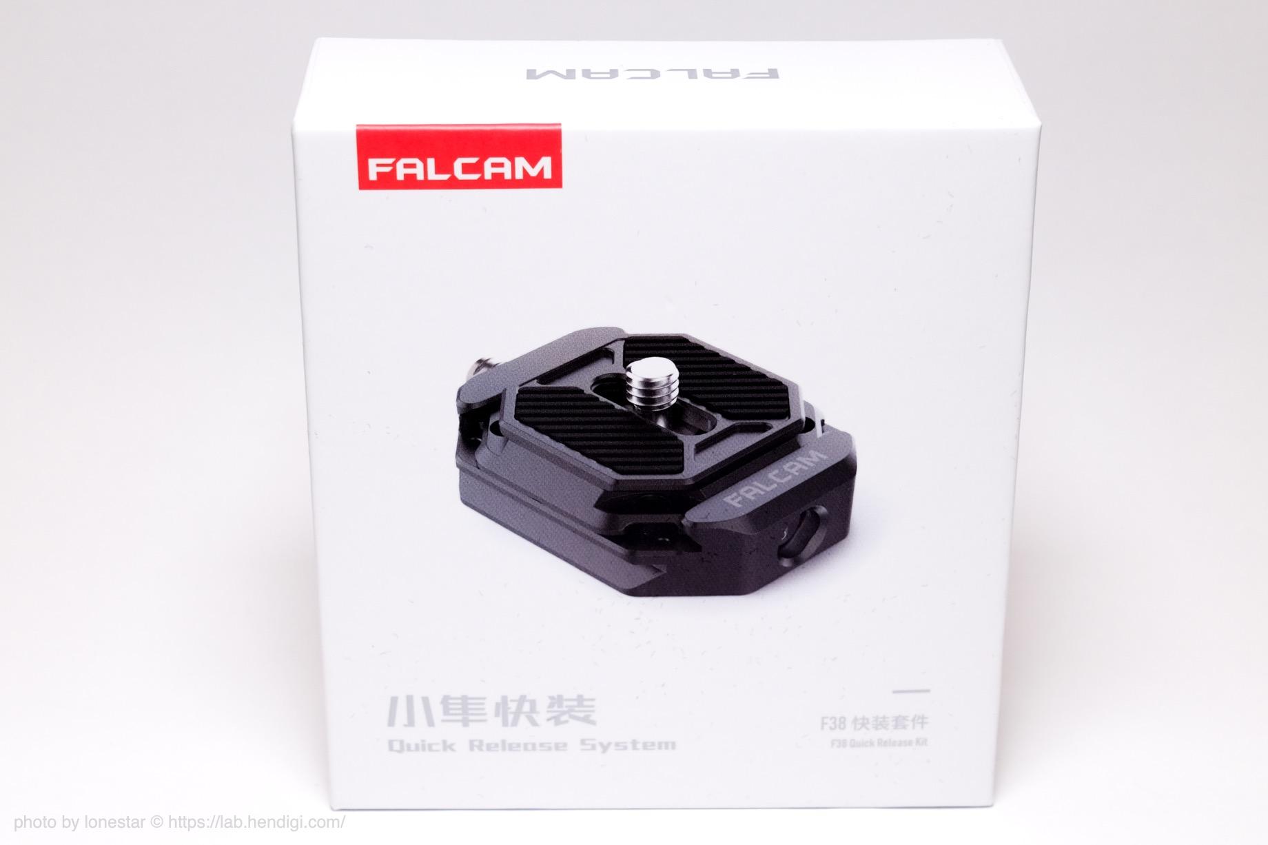 FALCAM F38クイックリリースセット