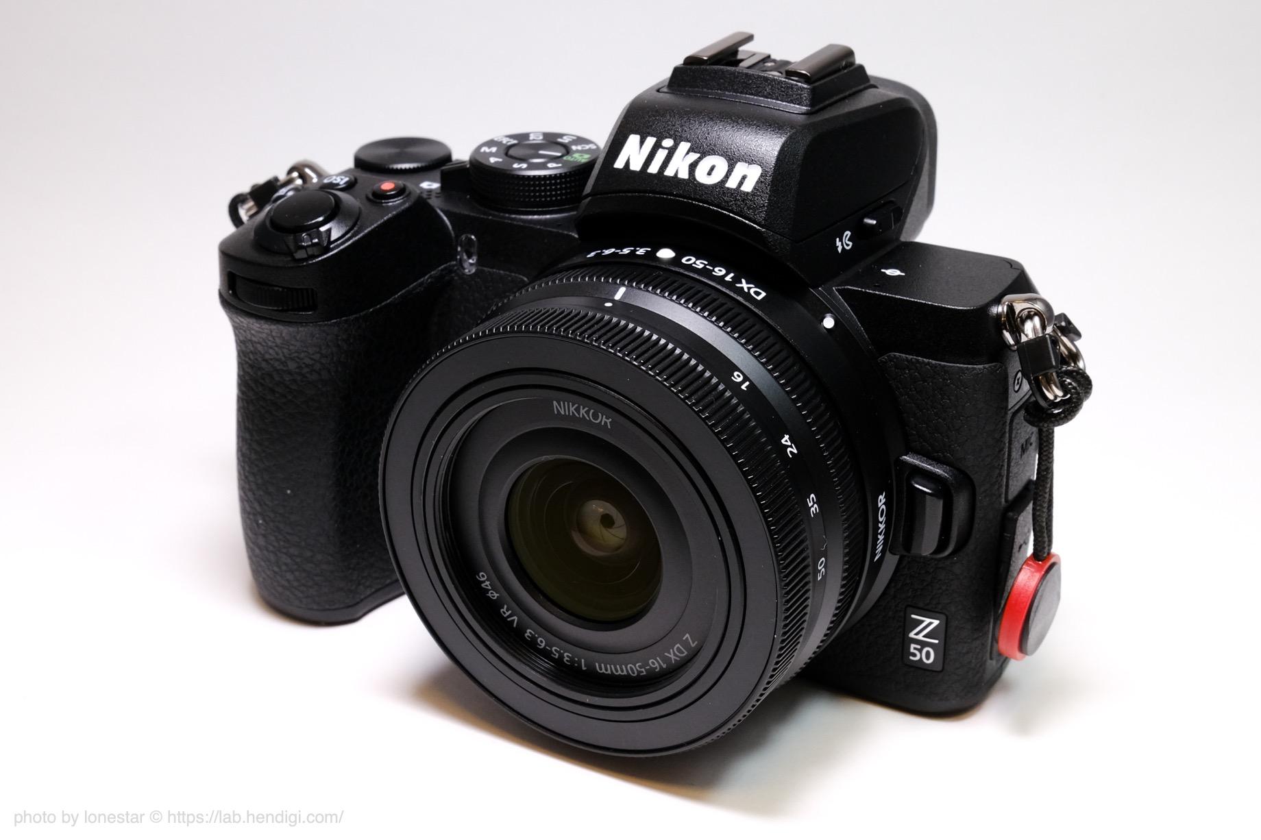 NIKKOR Z DX 16-50mm f/3.5-6.3 VR レビュー
