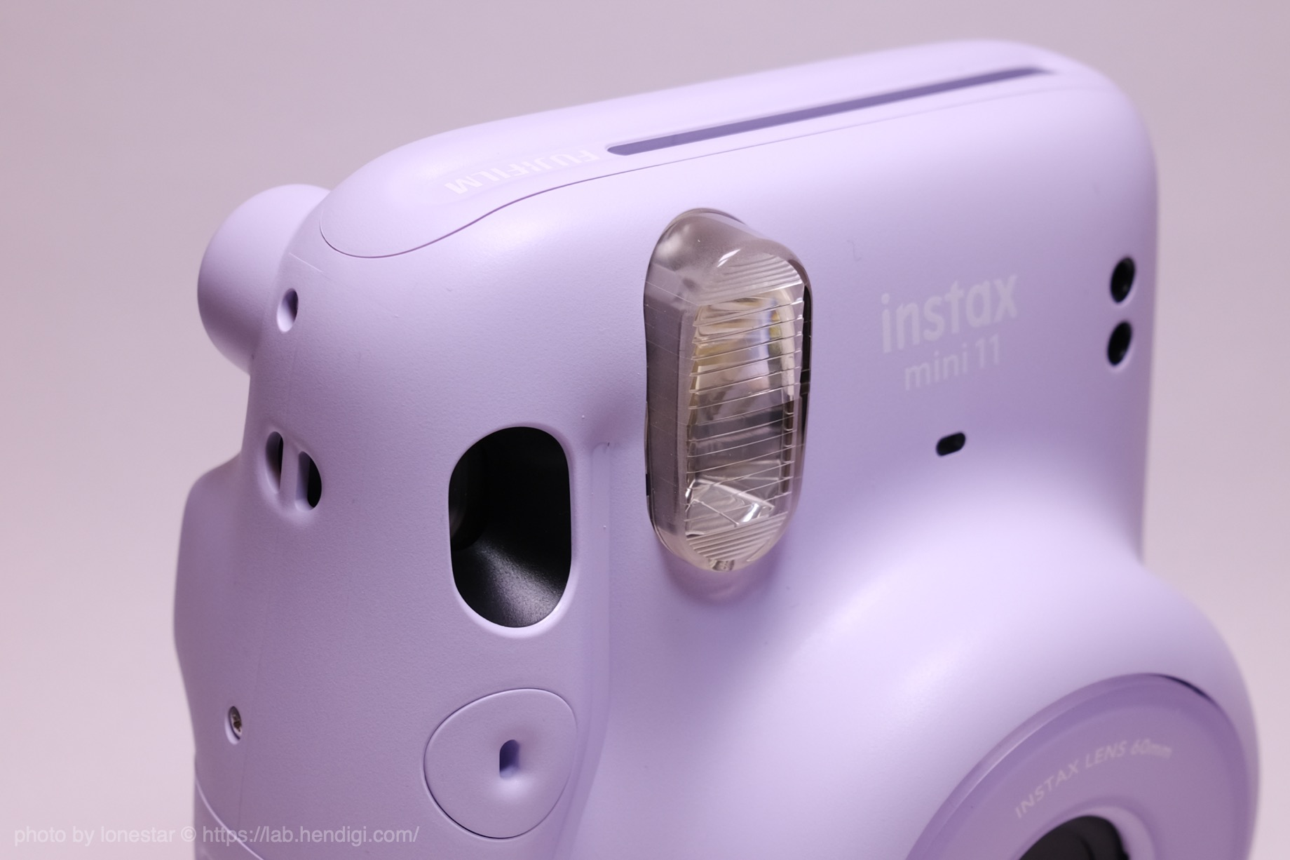 instax mini 11 フラッシュ