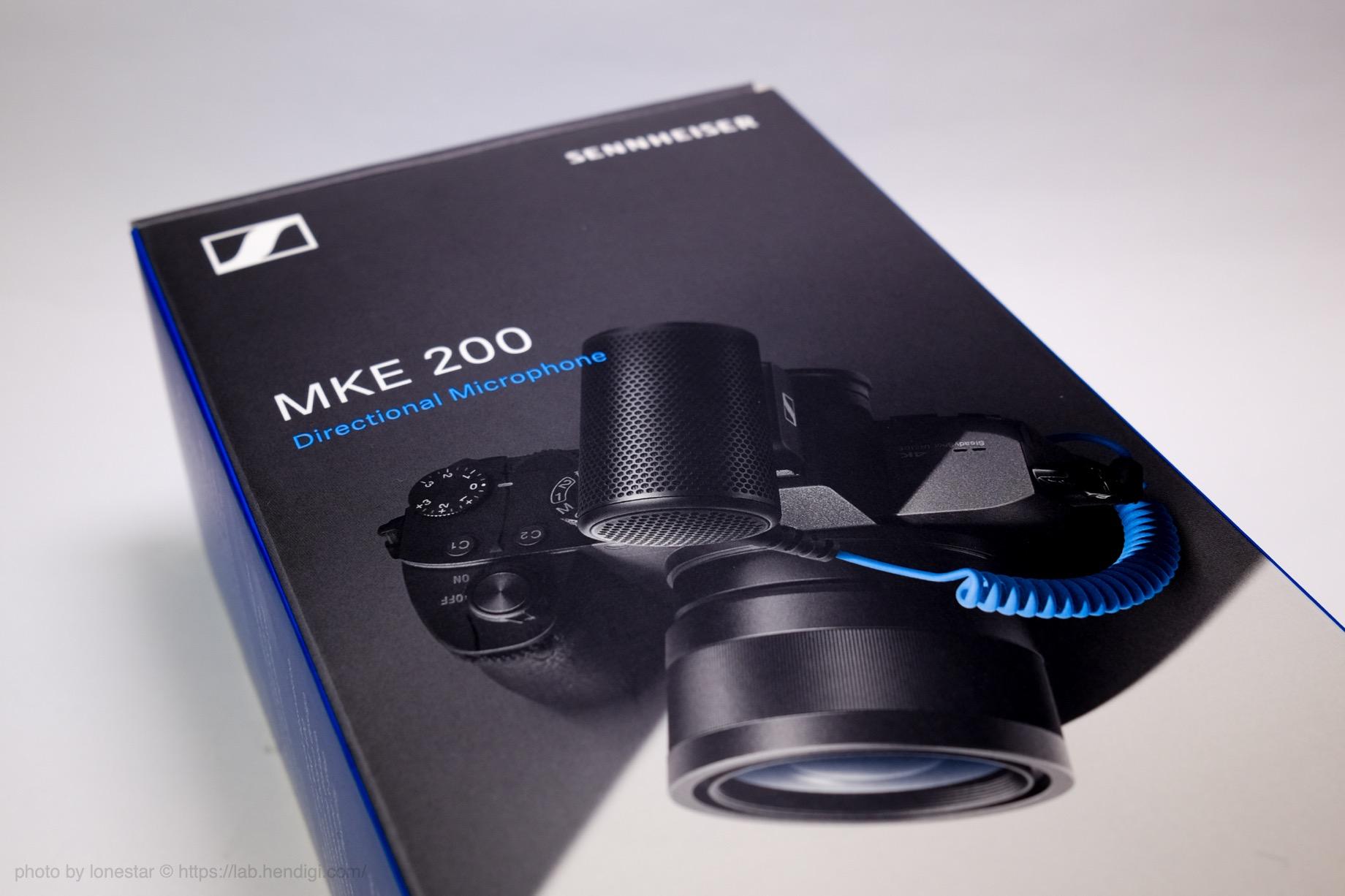 ゼンハイザー MKE200