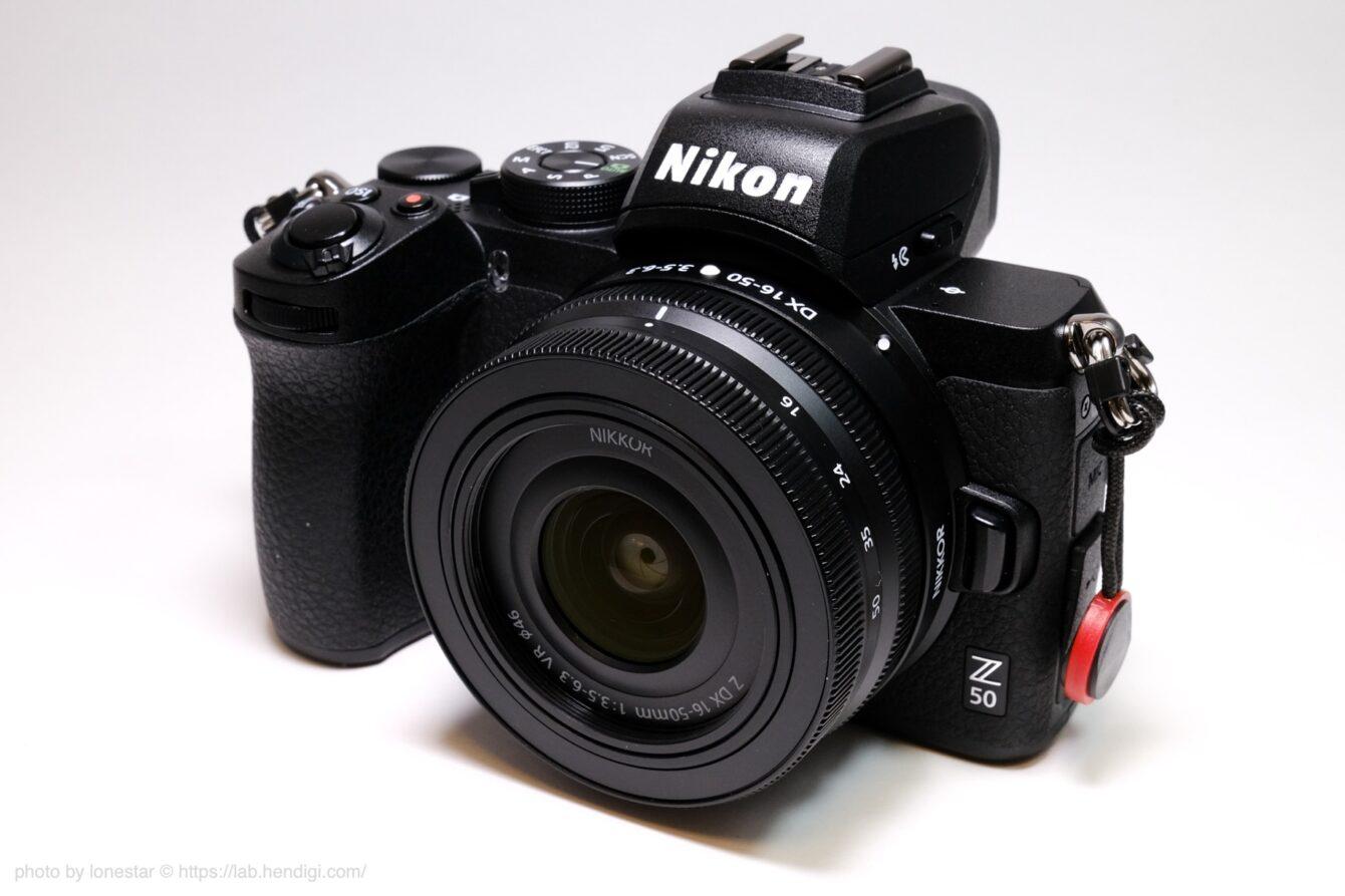 Nikon Z50 外観