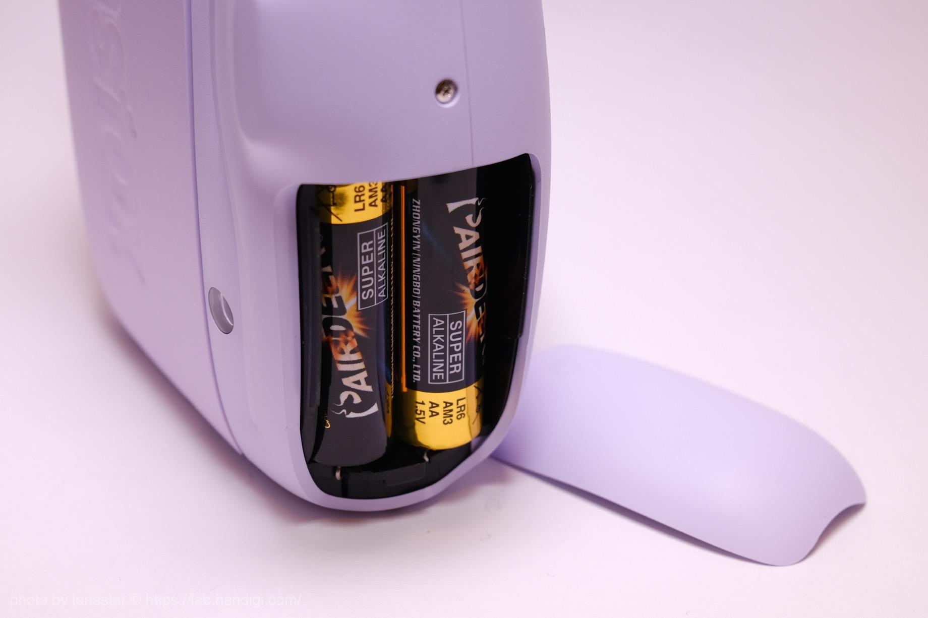 instax mini 11 乾電池