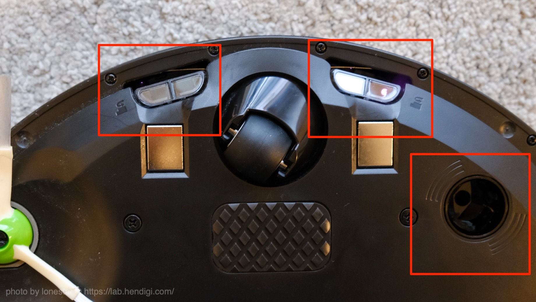ルンバ  i3 センサー