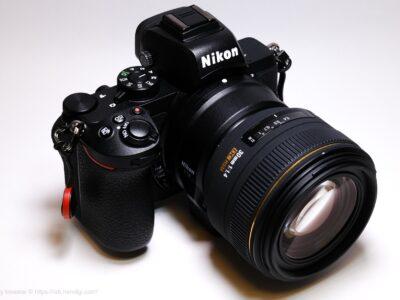 Nikon Z50 SIGMA 30mm F1.4