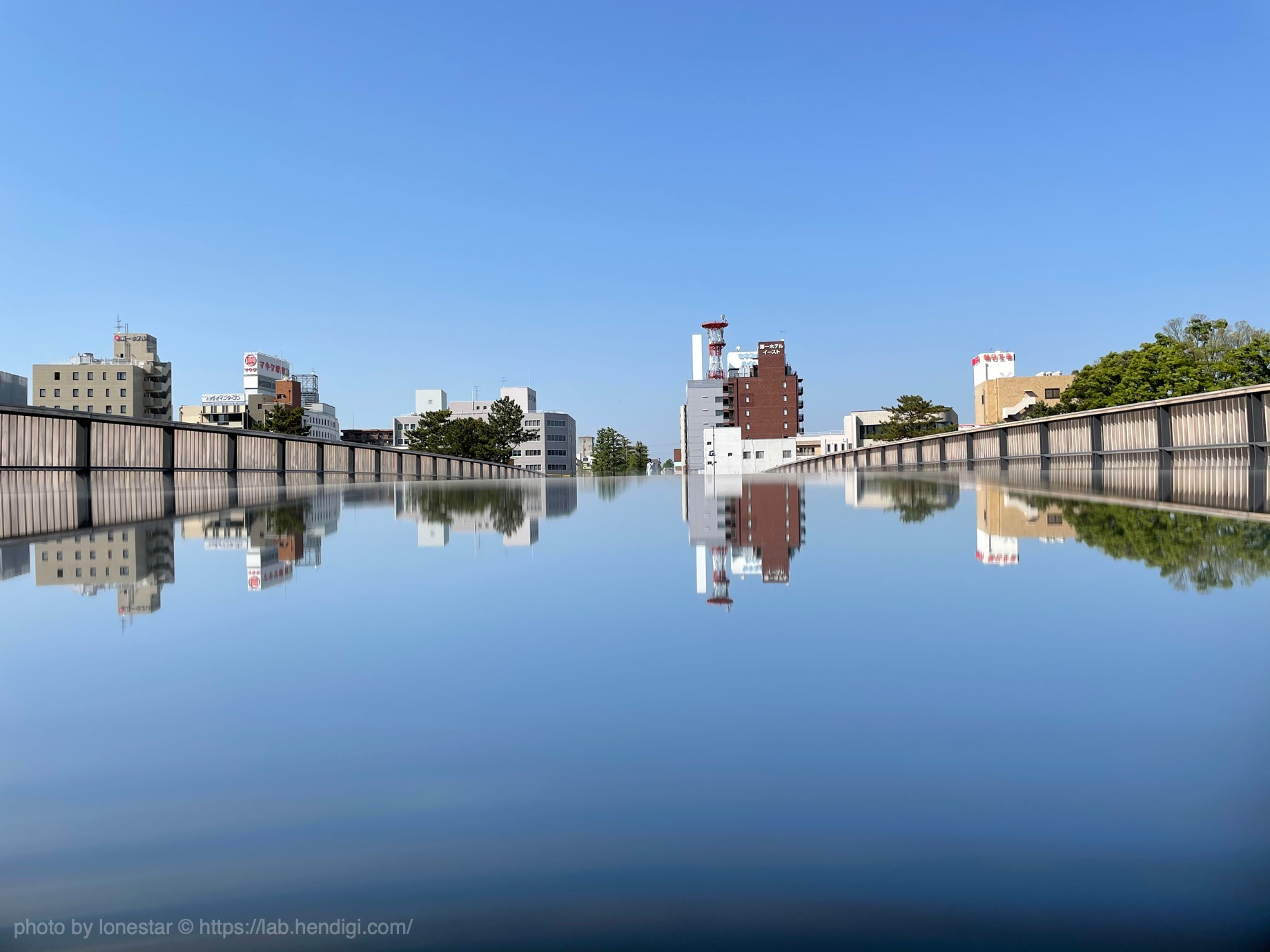 GIZMON Uyuni Mirror 作例写真