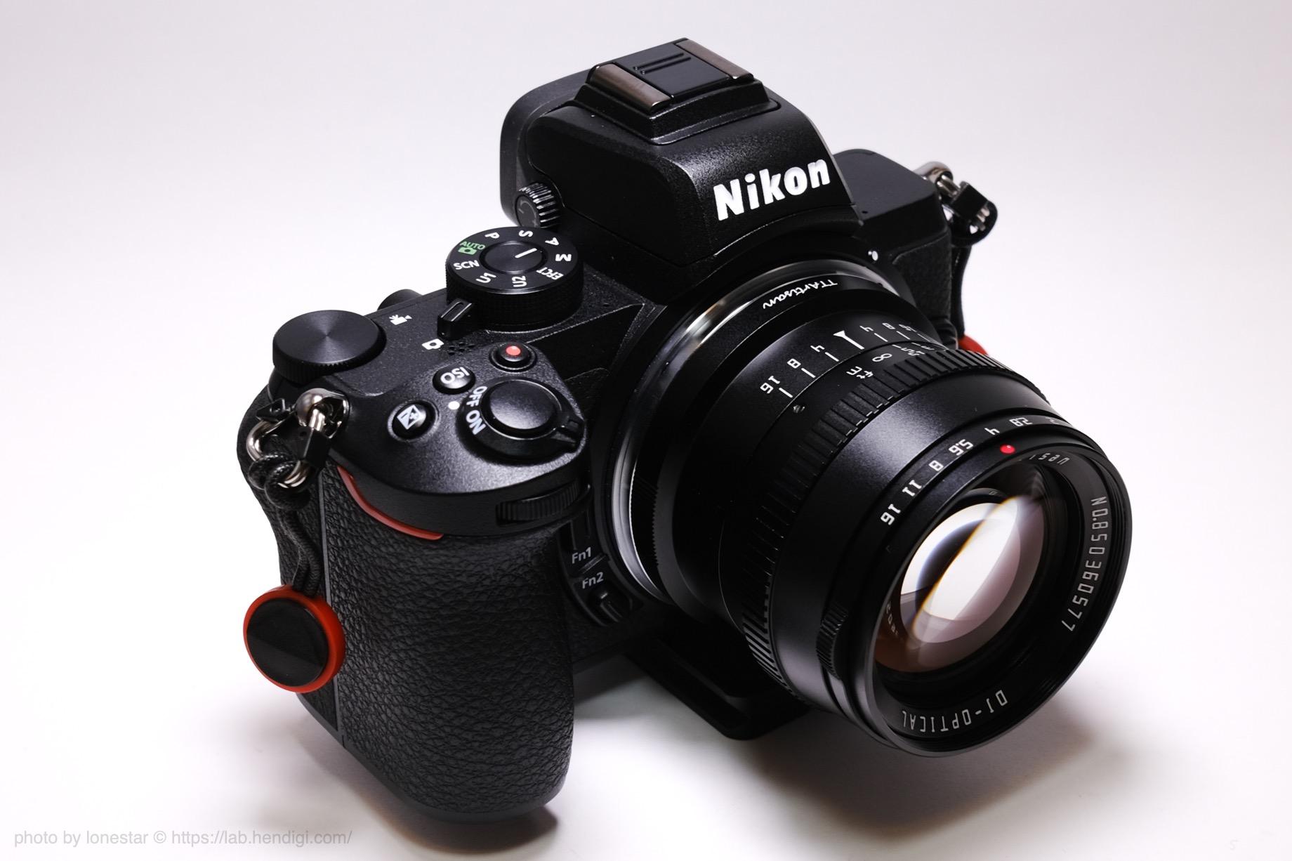 TTArtisan 50mm f/1.2 Nikon Z50