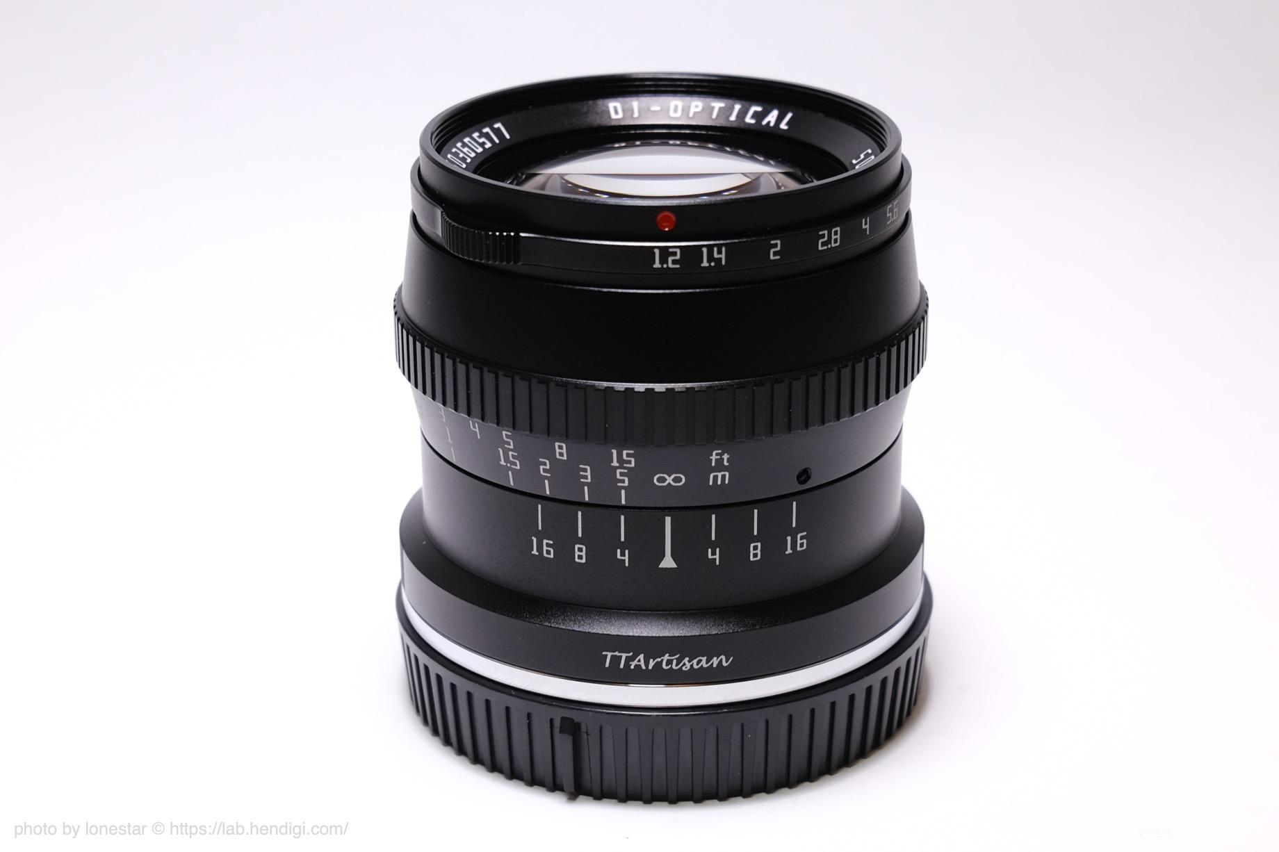 TTArtisan 50mm f/1.2