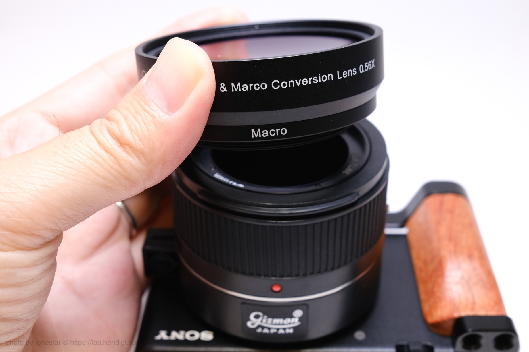 HD Wide & Marco Conversion Lens 0.56X レビュー