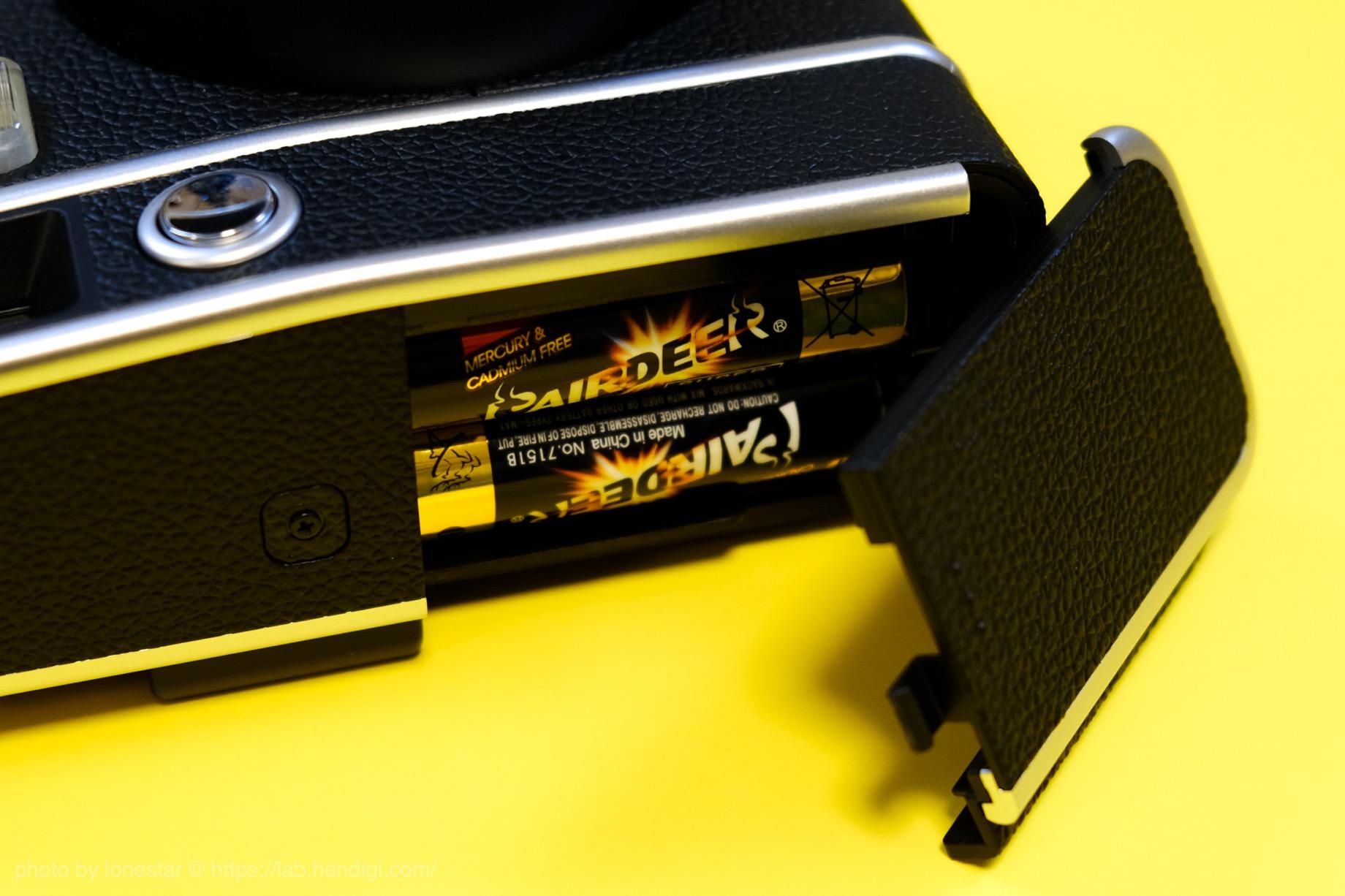 instax mini 40 電池