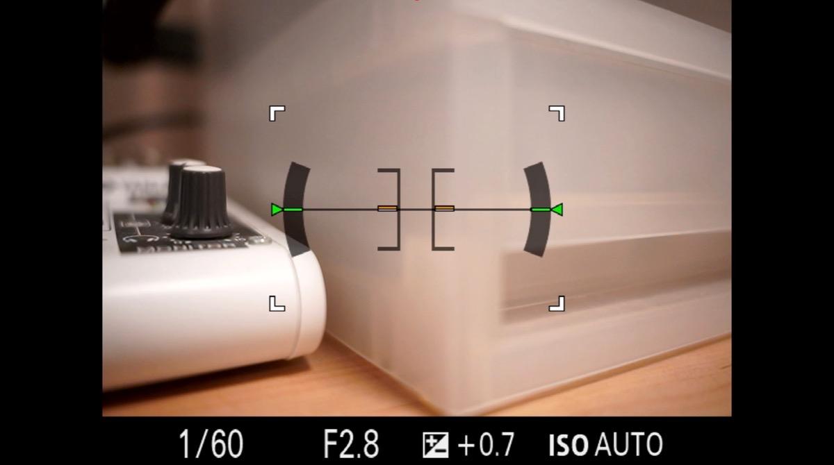 デジカメ HDMI情報表示
